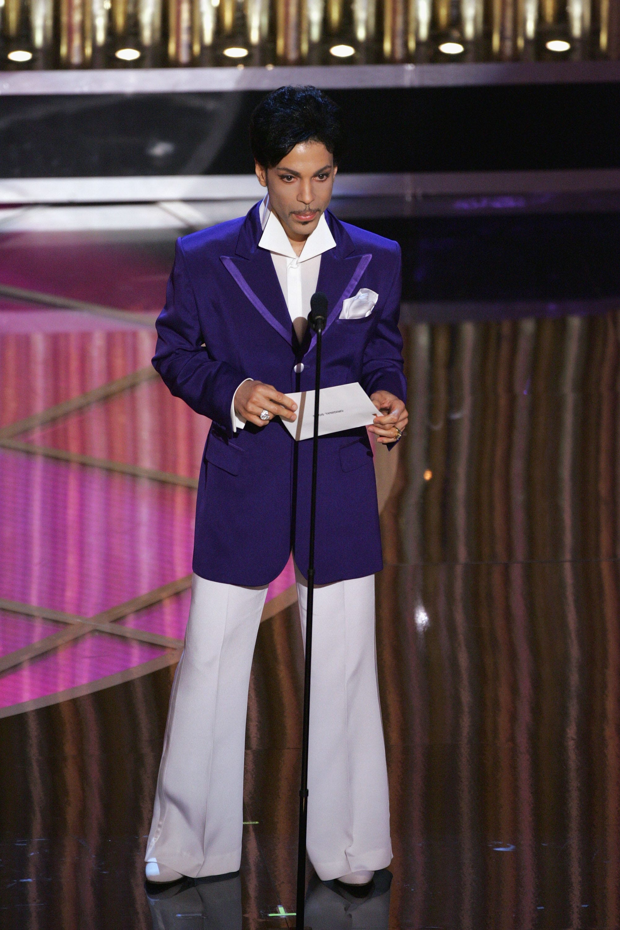 Prince's piano inspires new shade of purple