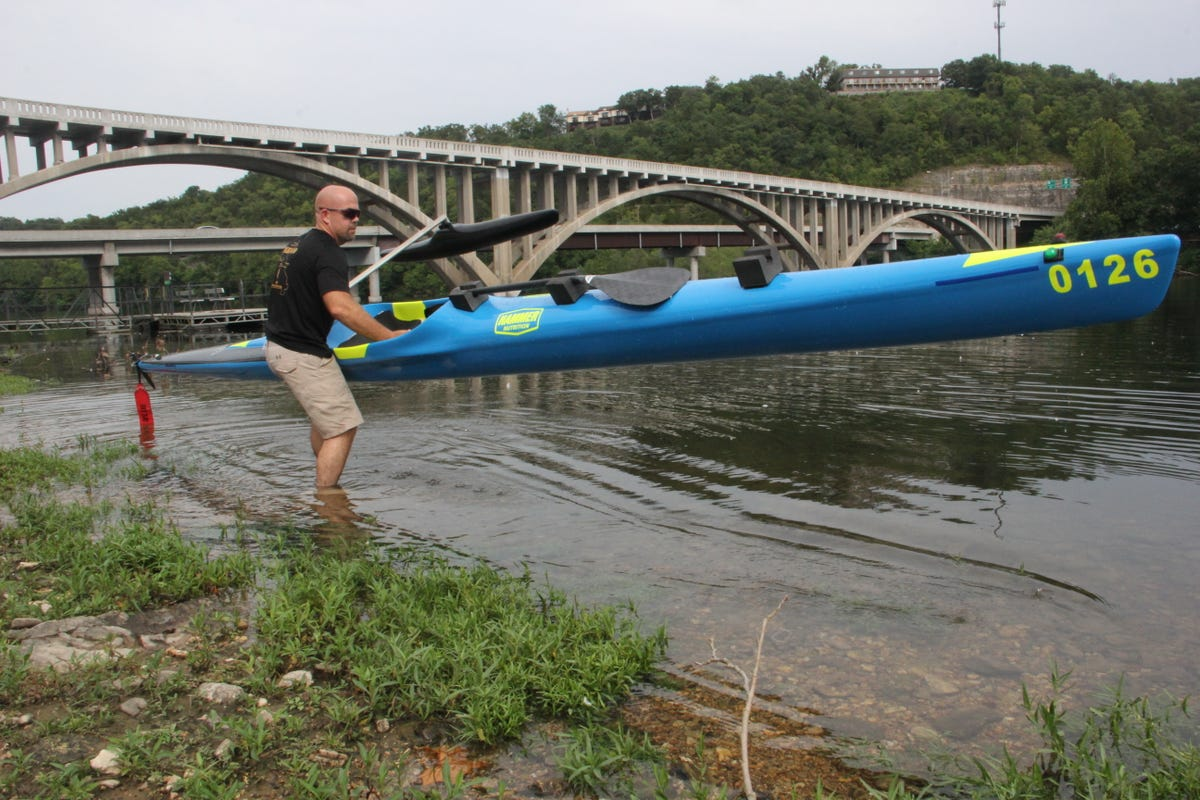 Local paddlers score a bunch of firsts at 340-mile river race