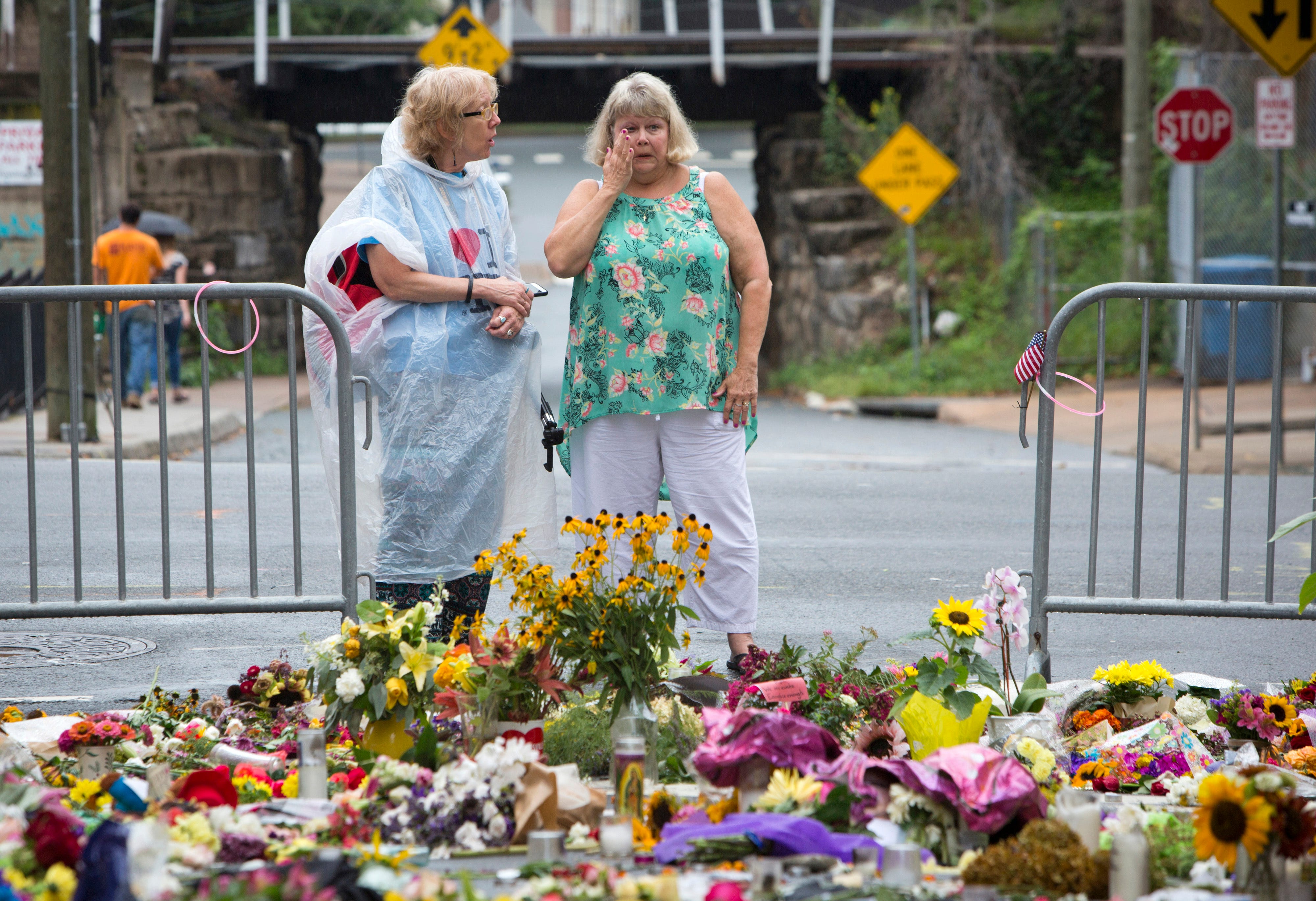 Mourners gather for vigil to honor young woman killed in aftermath of Charlottesville protests