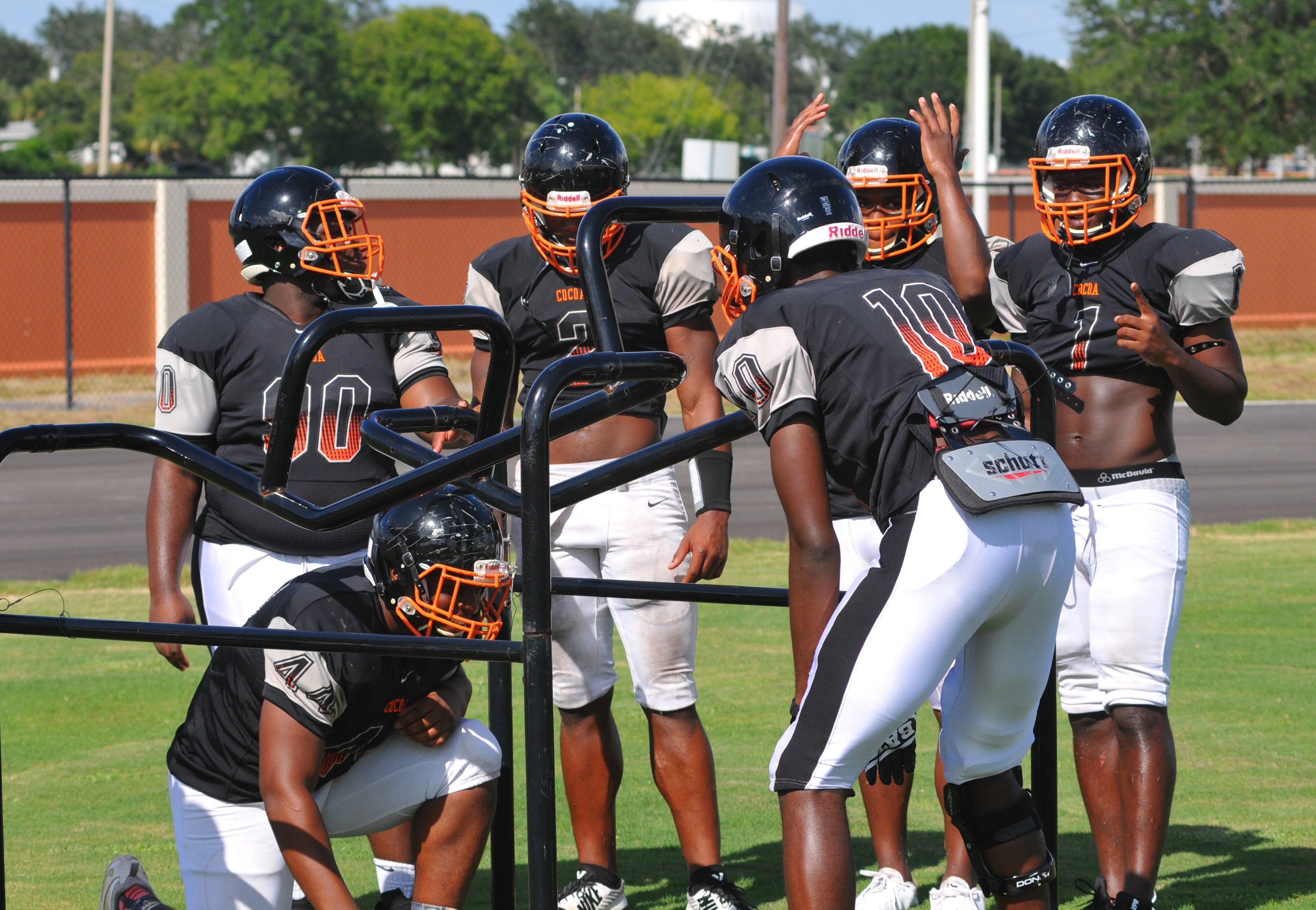 636390262651687798-Cocoa-High-Football-Practice-25 Cocoa goes for fifth state football title