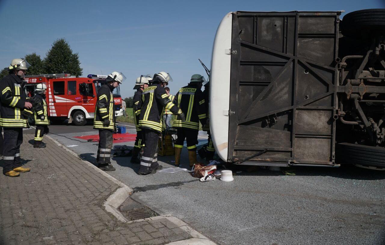 44 Romanian fruit pickers hurt in German bus crash