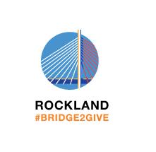 Rockland #Bridge2Give logo