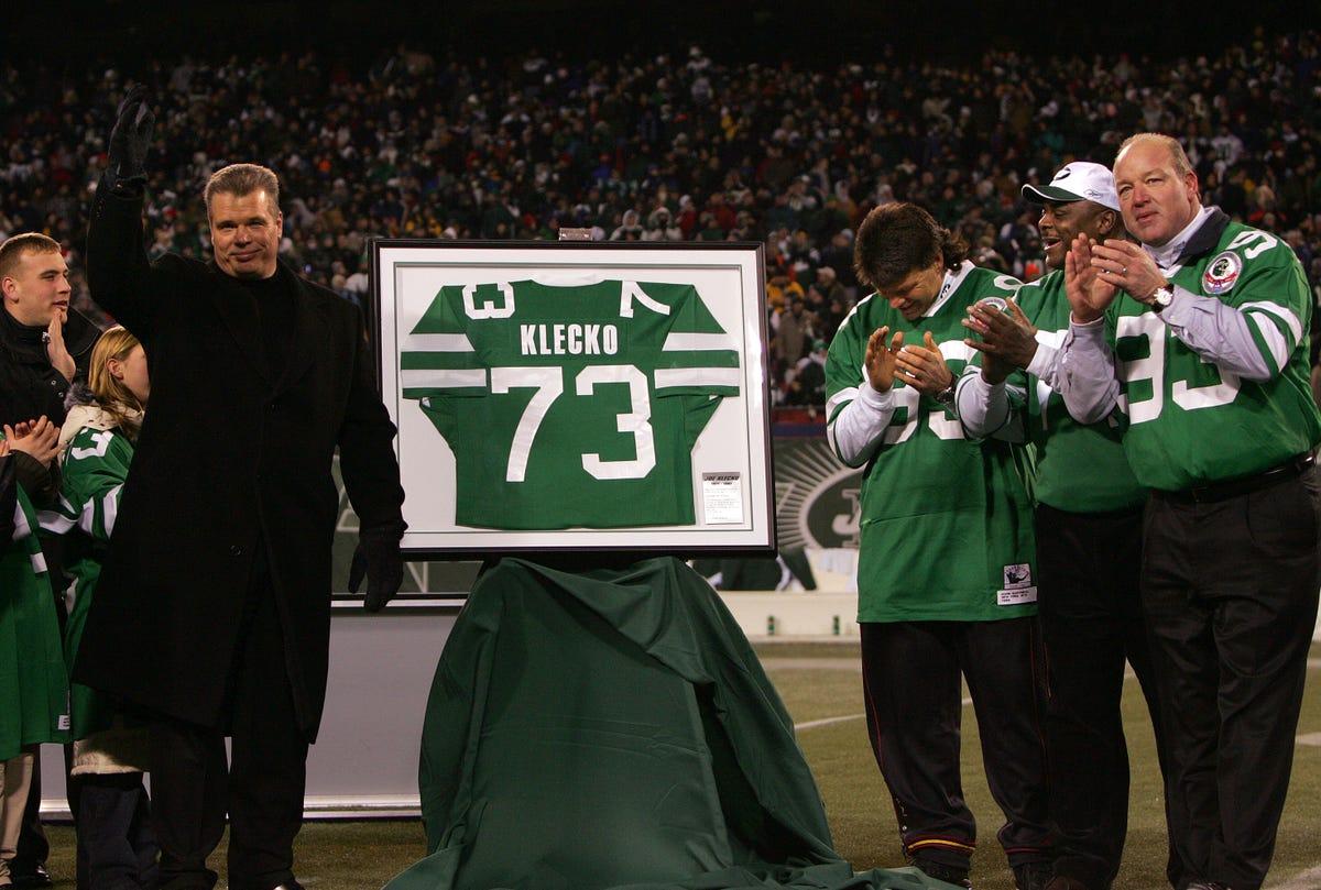 sale retailer d00a2 13ffe New York Jets legend Joe Klecko again denied entry to the ...