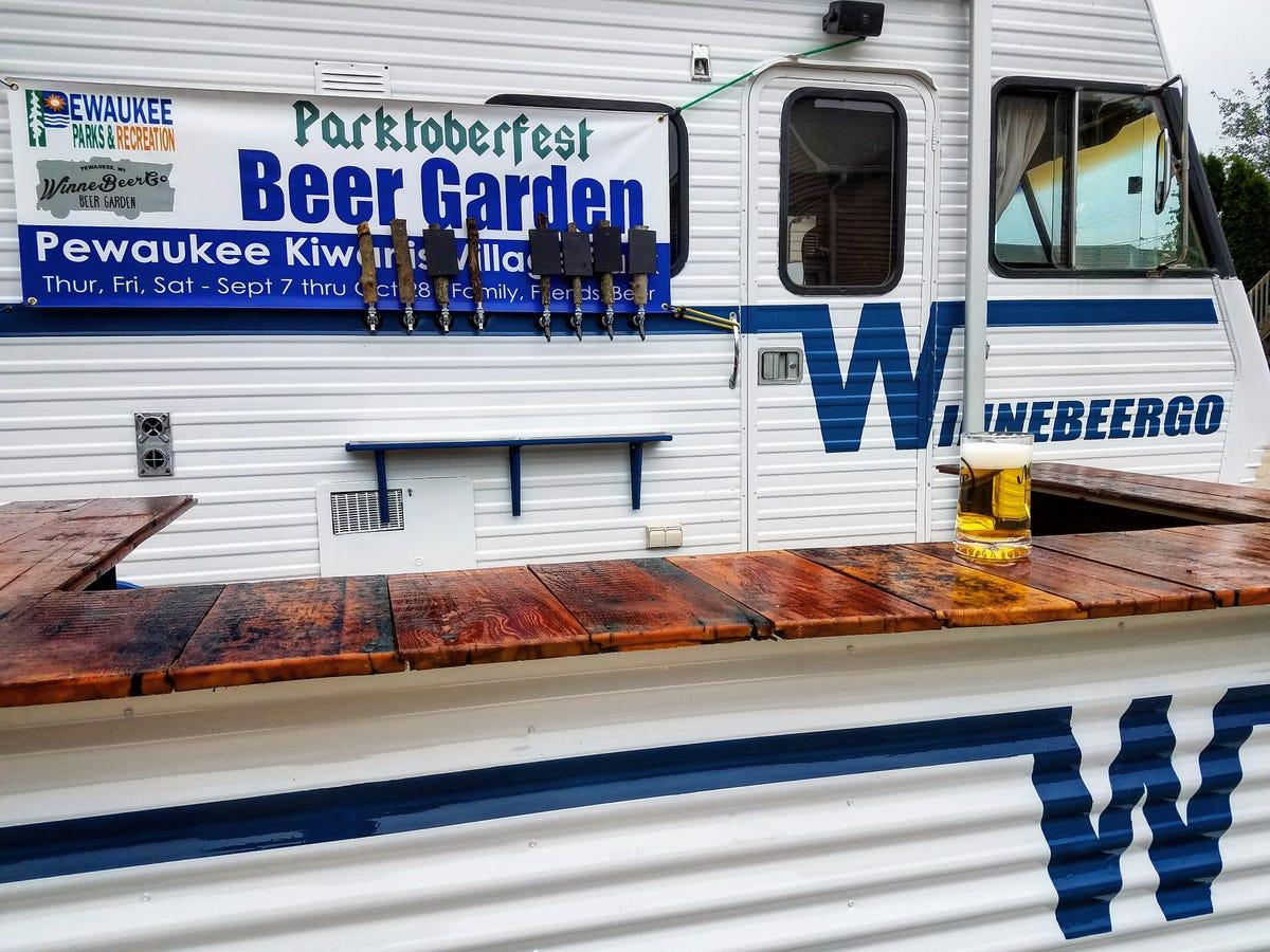 New beer garden in Pewaukee includes beer on wheels