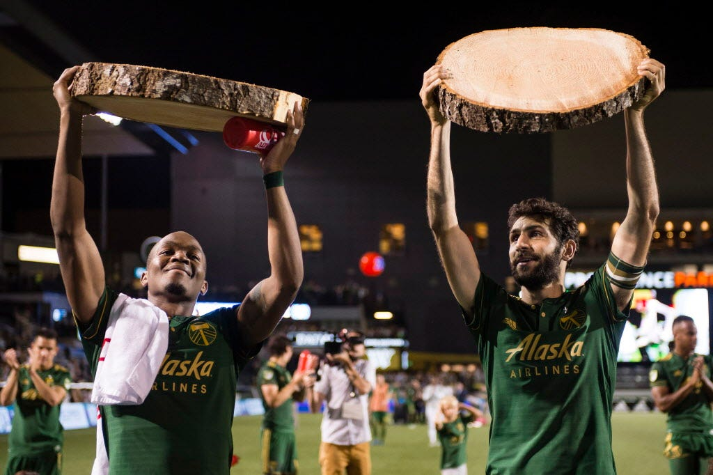 Diego Valeri guiding Portland Timbers to top of MLS's Western Conference