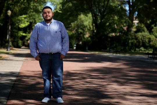 Juan Navarro, who was born in Mexico and grew up in Marion County, is a DACA recipient. He earned a bachelor's degree from Western Oregon University and a masters at Oregon State University.