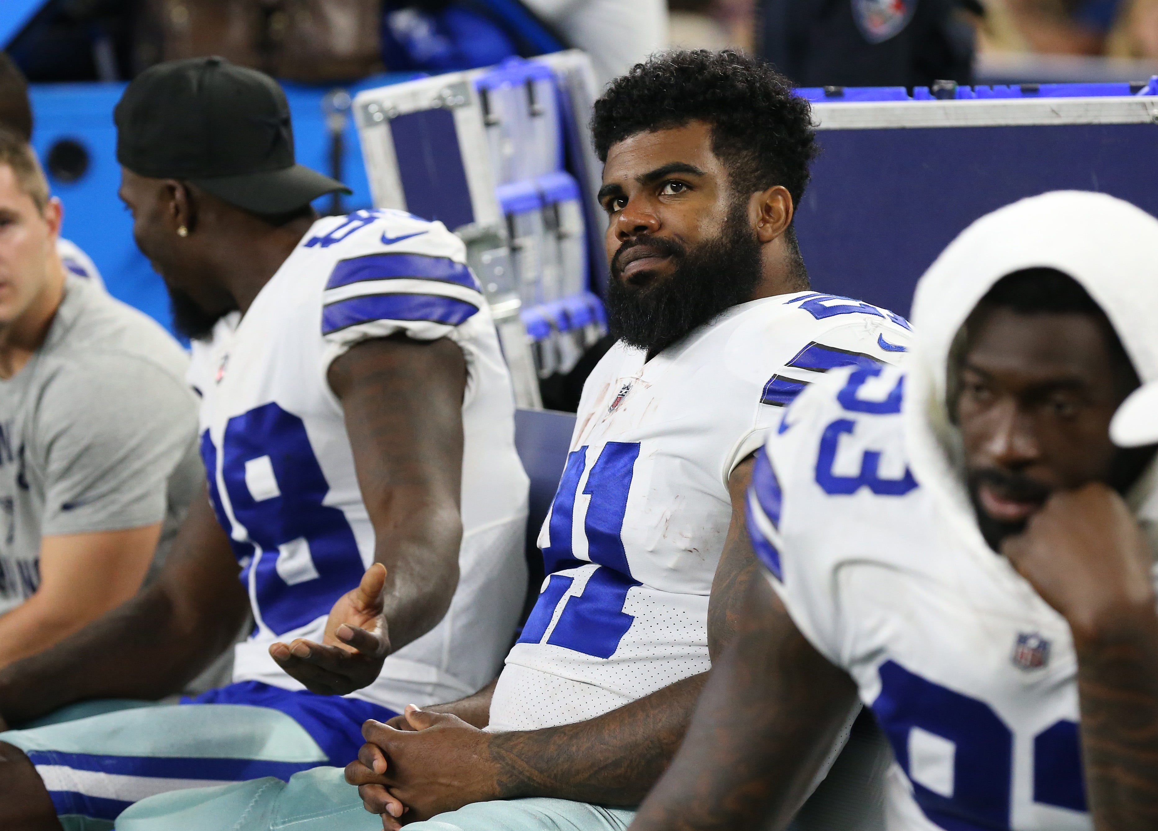 NFL seeks dismissal of Ezekiel Elliott's federal court case
