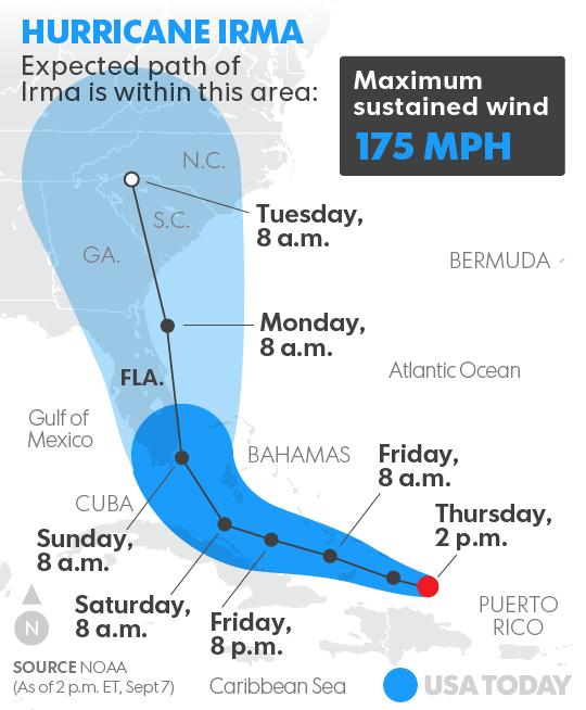 Cómo proteger a sus mascotas durante el Huracán Irma - USA today 3
