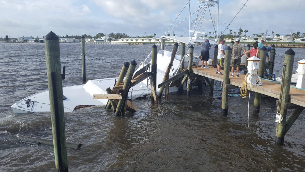 Hurricane Irma claims iconic sportfishing boat Sea Lion