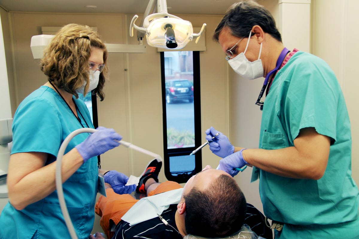 Local Medical Missions offer free dental and medical services