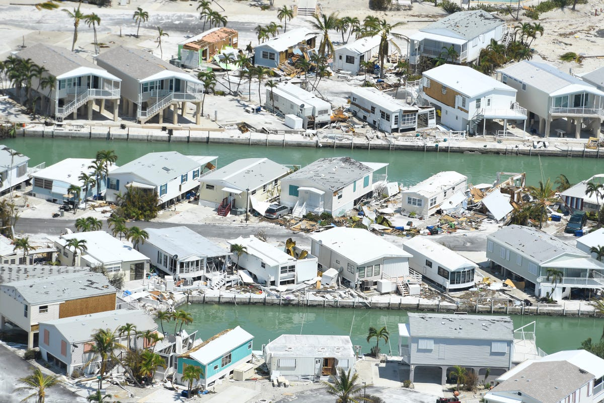Florida Keys flyover shows damage but no disaster
