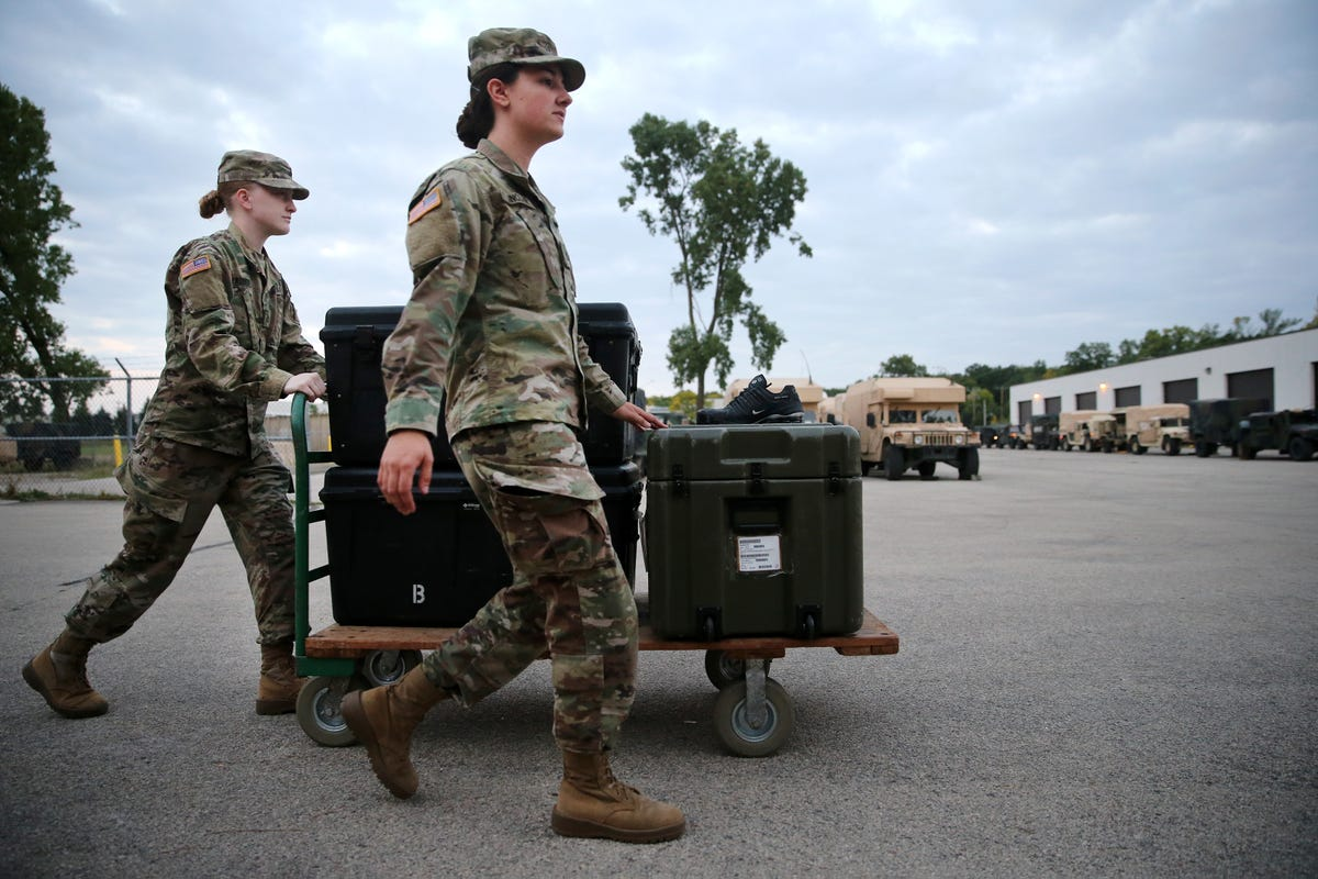 Fewer Wisconsin National Guard units meet Army standards