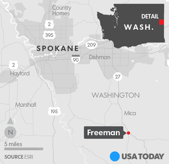 Teacher Shot In Parkland On Abc Shooter Was In Full: Freeman High School Spokane Shooting: One Dead, Others Wounded