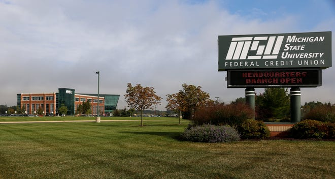 The MSUFCU building on the Headquarters Campus on Coolidge Road.