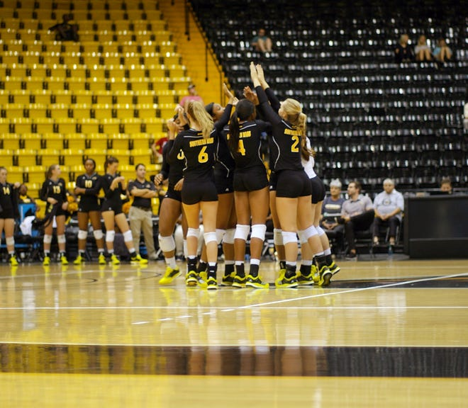 The Southern Miss volleyball team is set to host two games next week, despite having its season postponed to the spring.