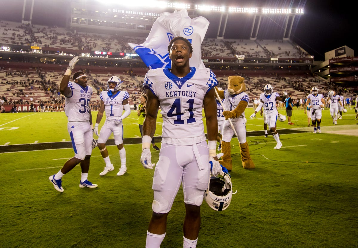 best loved 77bbc f90c3 Kentucky Football | How Josh Allen went from two-star ...