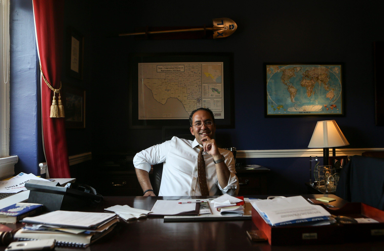 Texas Republican Rep. Will Hurd calls Trump border crisis a 'myth'