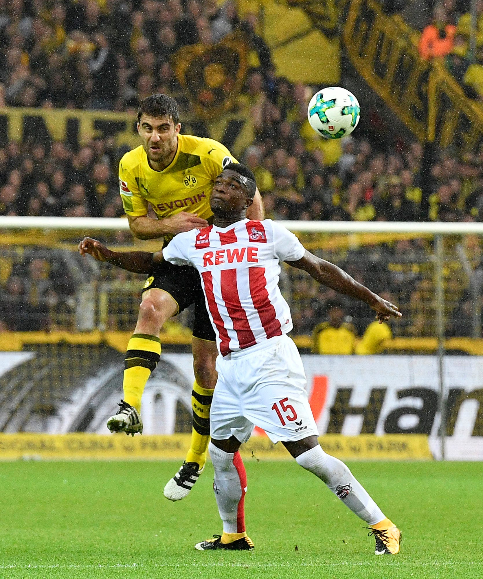 Video ref helps Dortmund thrash Cologne in Bundesliga