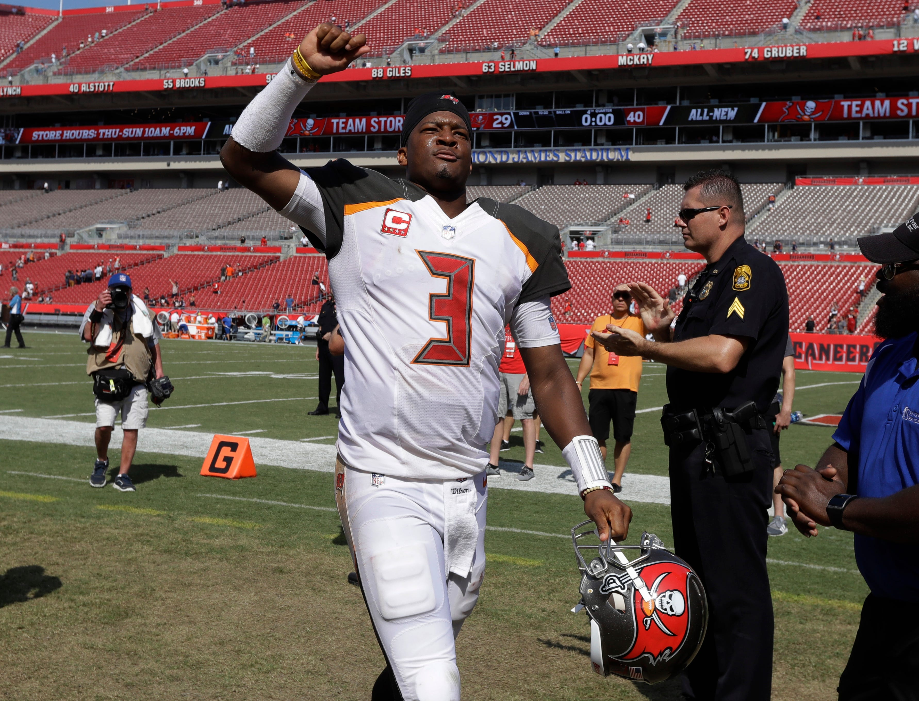 NFL investigating Bucs QB Jameis Winston over alleged assault on Uber driver
