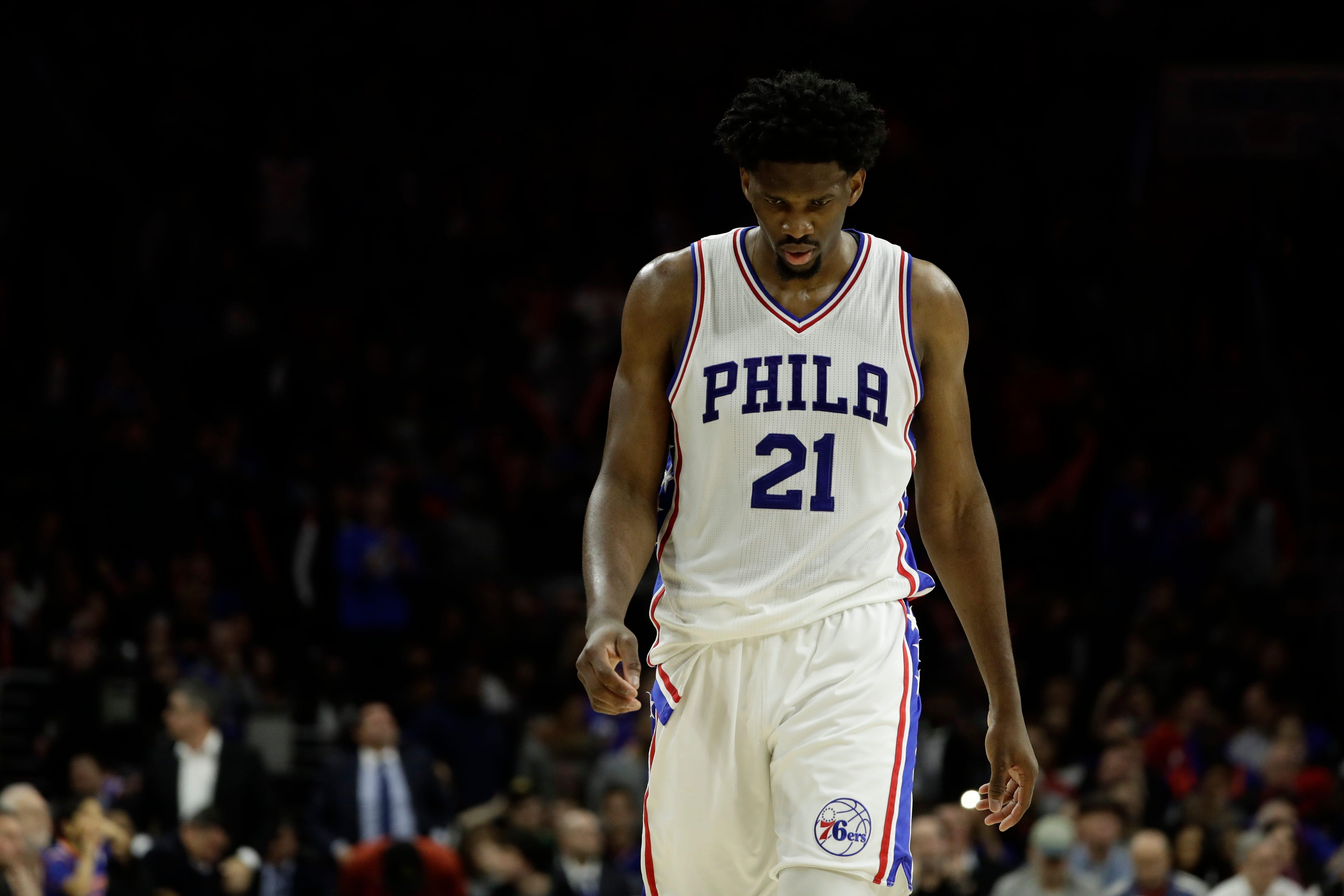 Philadelphia 76ers star Joel Embiid still not cleared for 5-on-5 drills