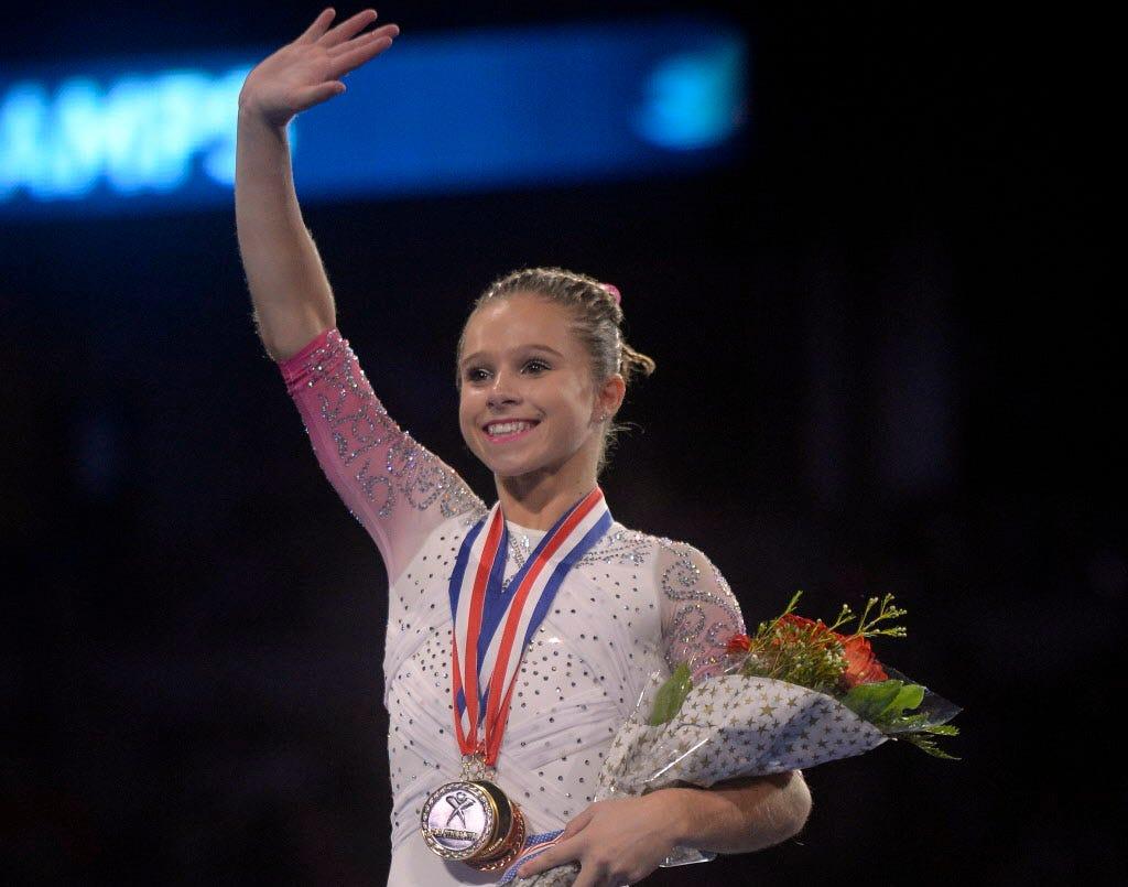 Ragan Smith among four named to U.S. team for world gymnastics championships