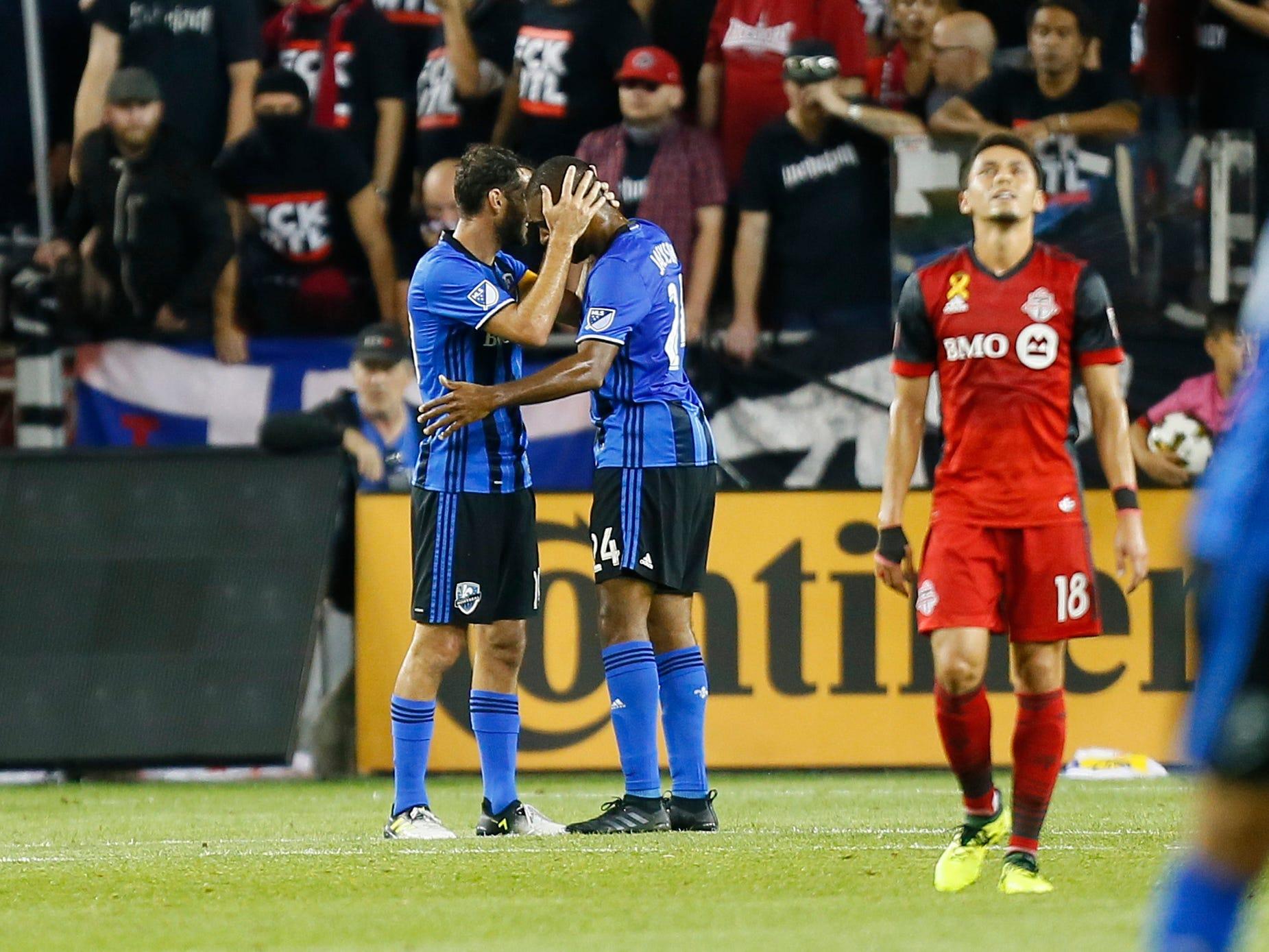Montreal Impact ends Toronto FC's 11-match MLS unbeaten streak