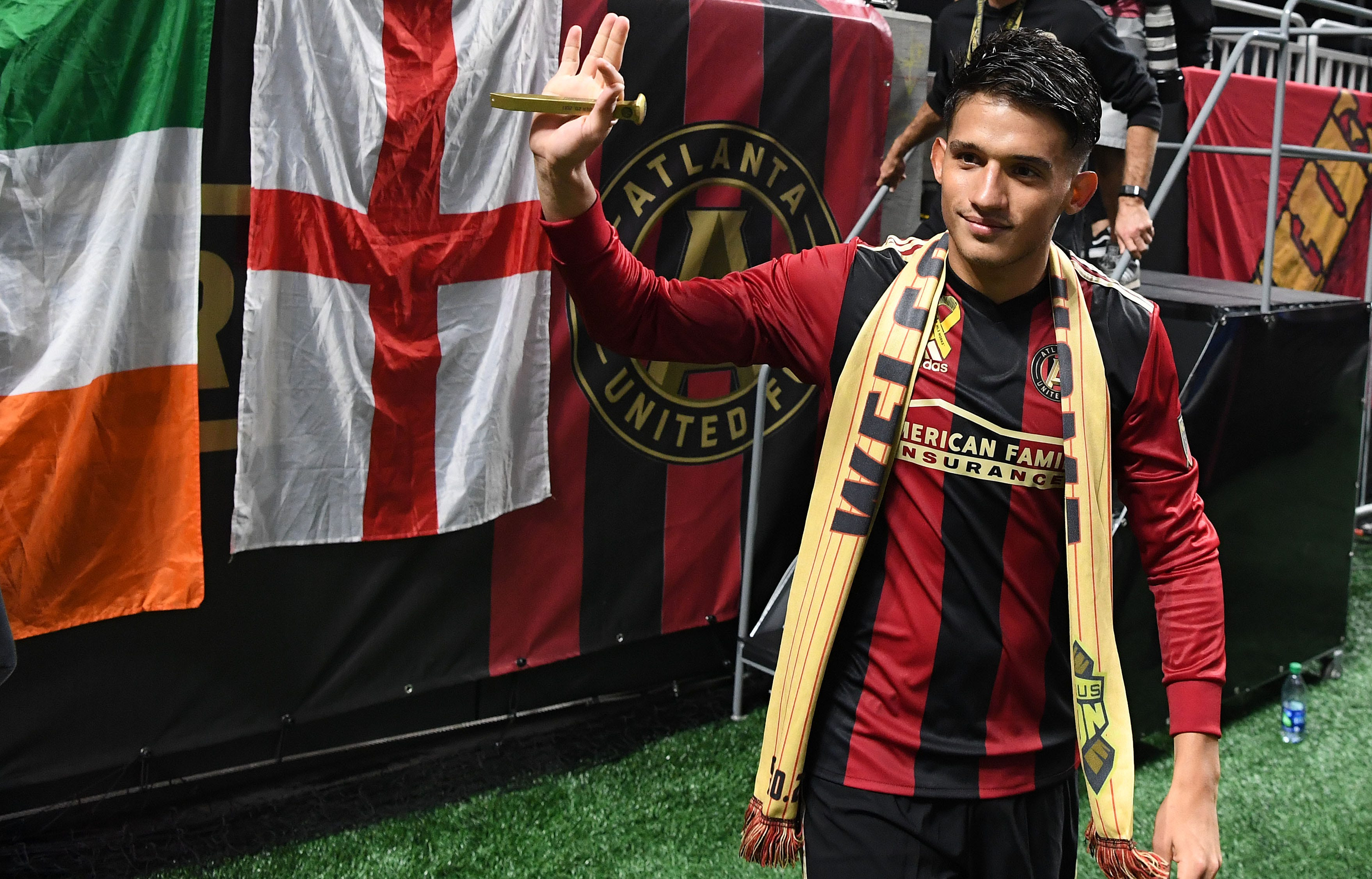 Atlanta United scores 3 goals in 7 minutes in rout of Los Angeles Galaxy