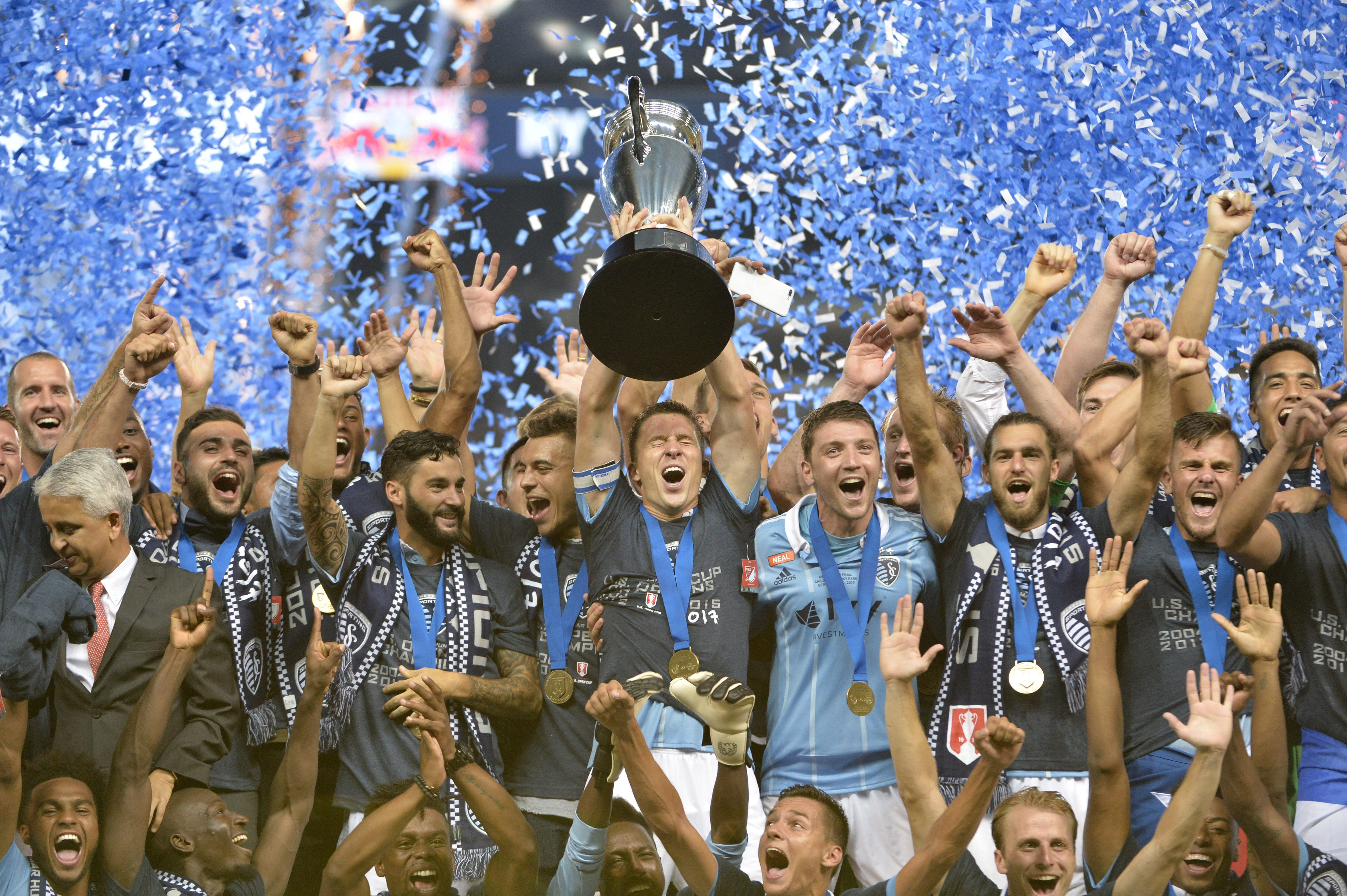 Sporting Kansas City wins its fourth U.S. Open Cup title
