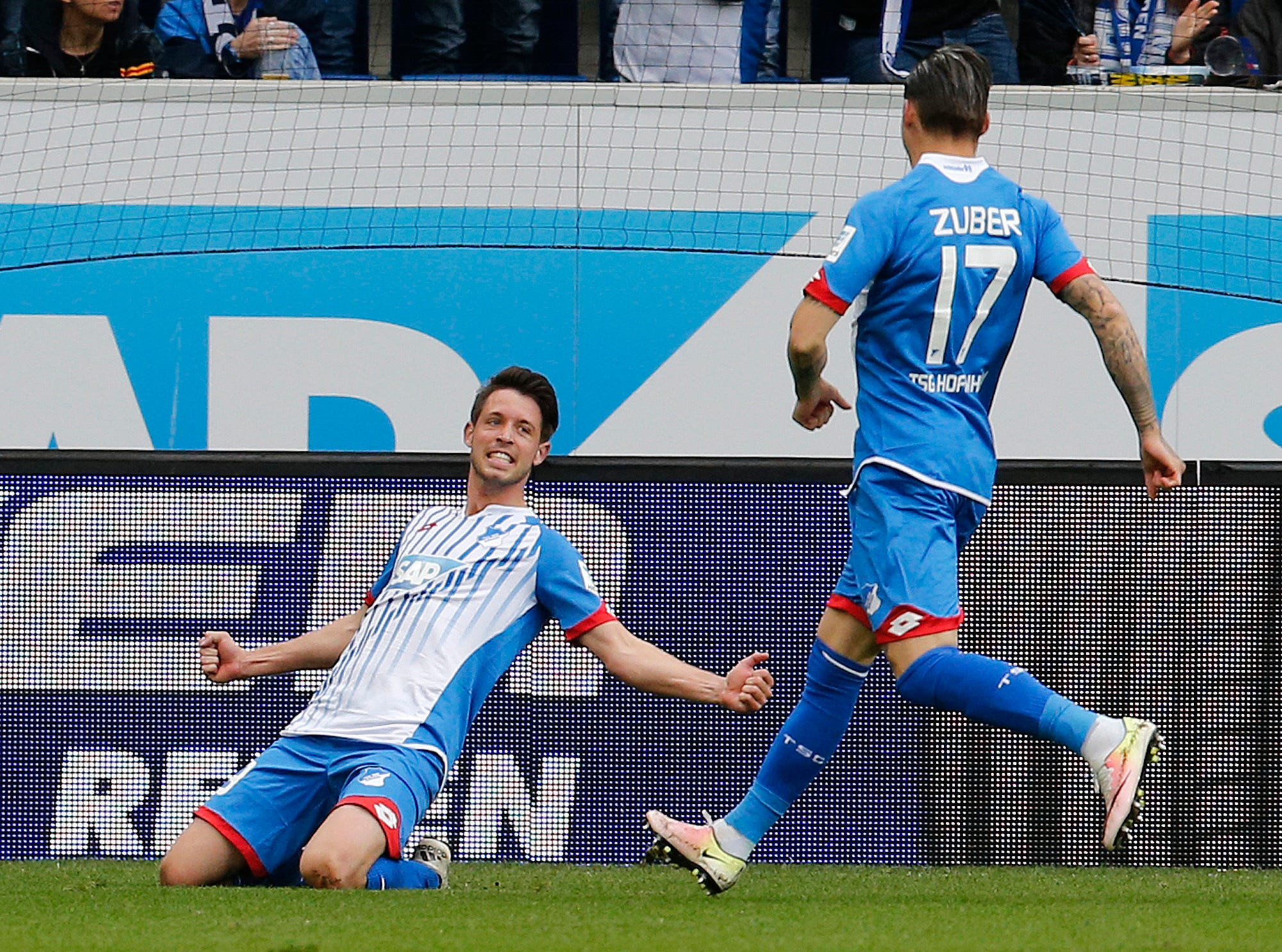 Hoffenheim forward Uth puts himself in World Cup contention