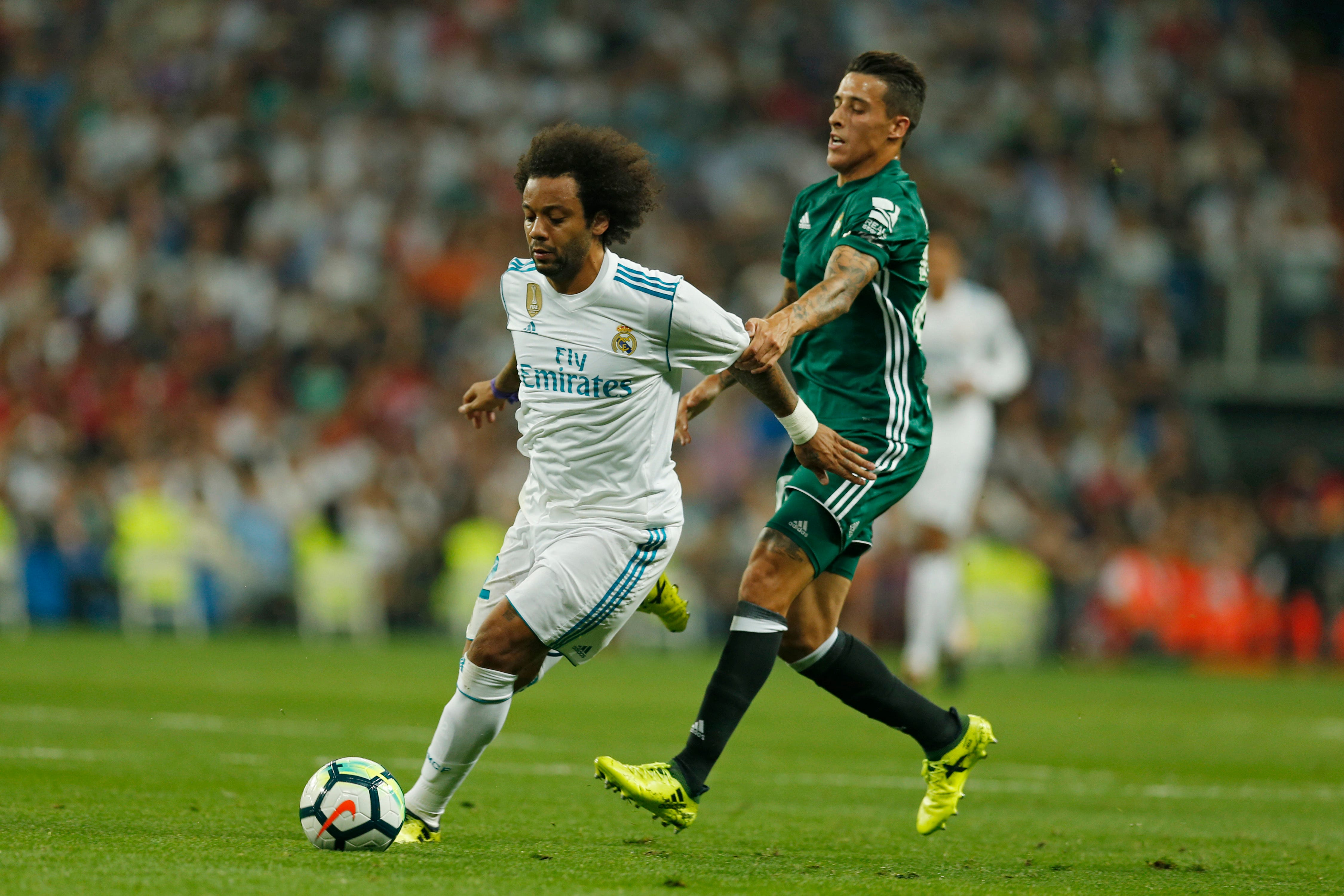 Real Madrid adds Marcelo to list of injured players