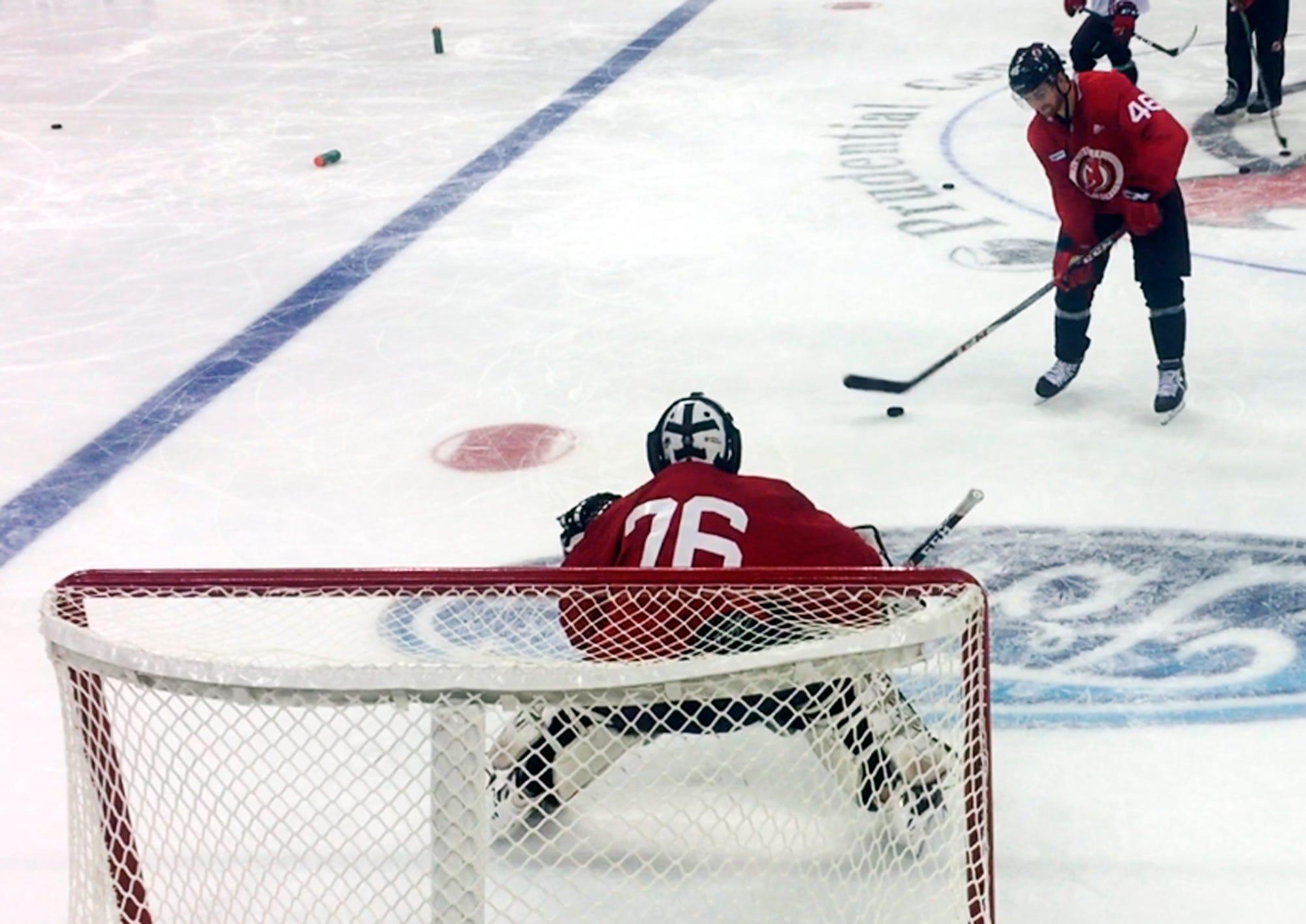 Devils hold open tryouts for emergency goalies