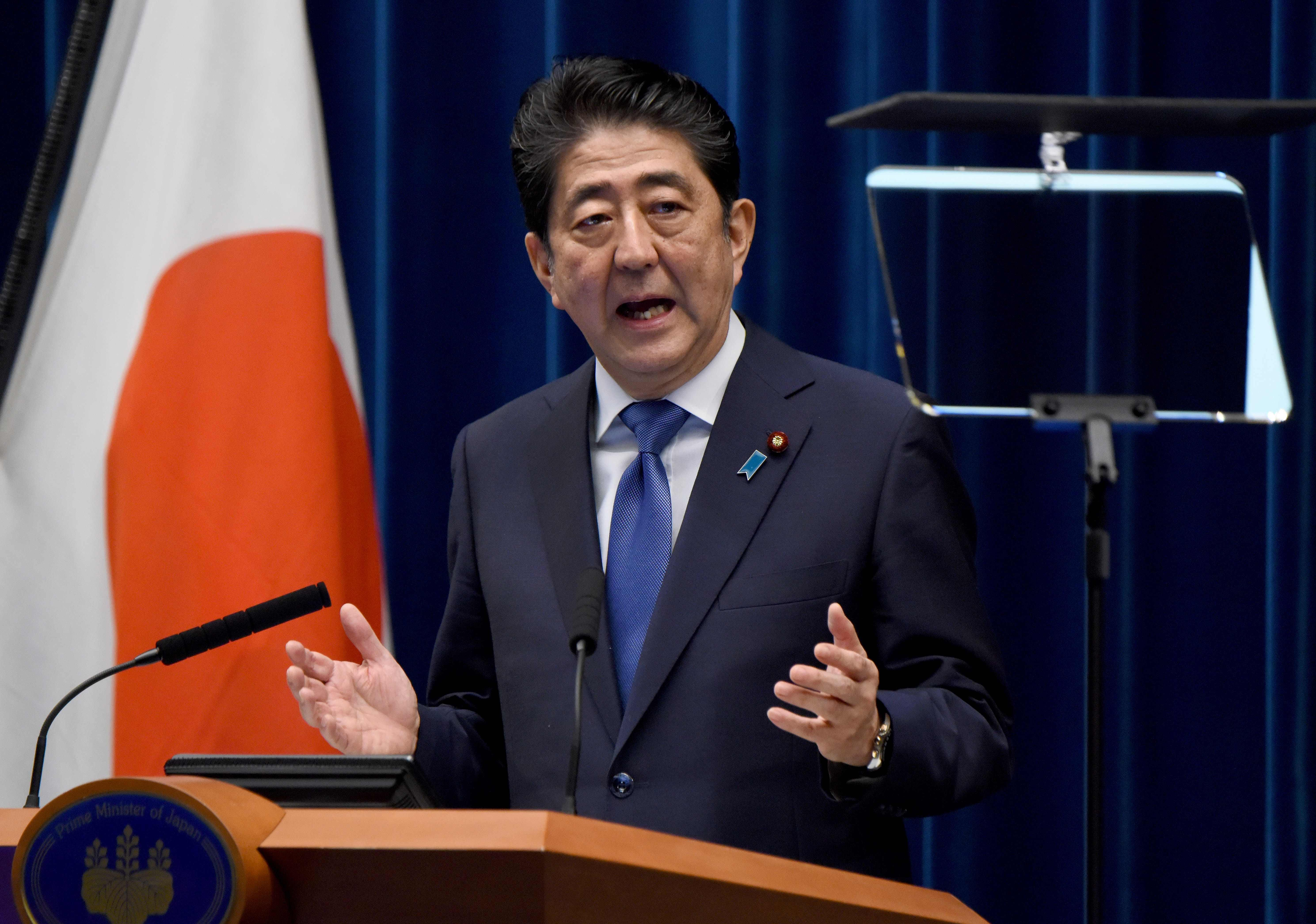 Japan's Abe to call snap election for parliament