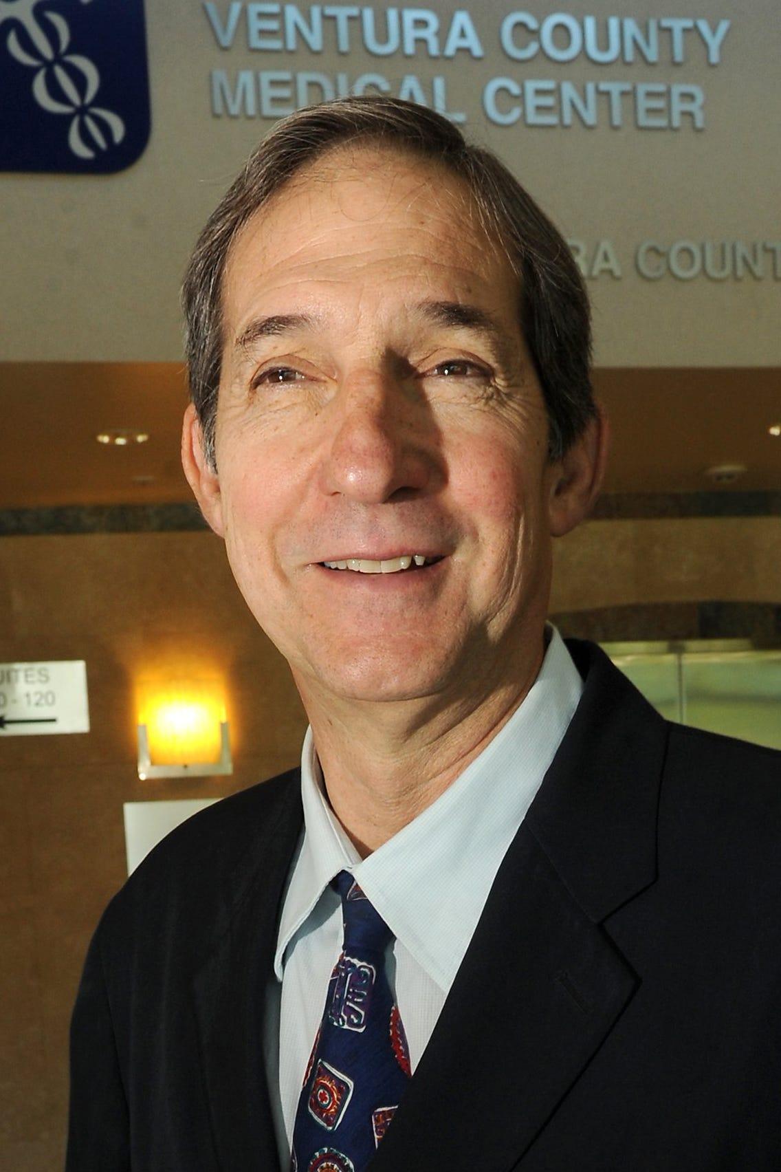 Dr. Robert Levin serves as Ventura's County health officer.