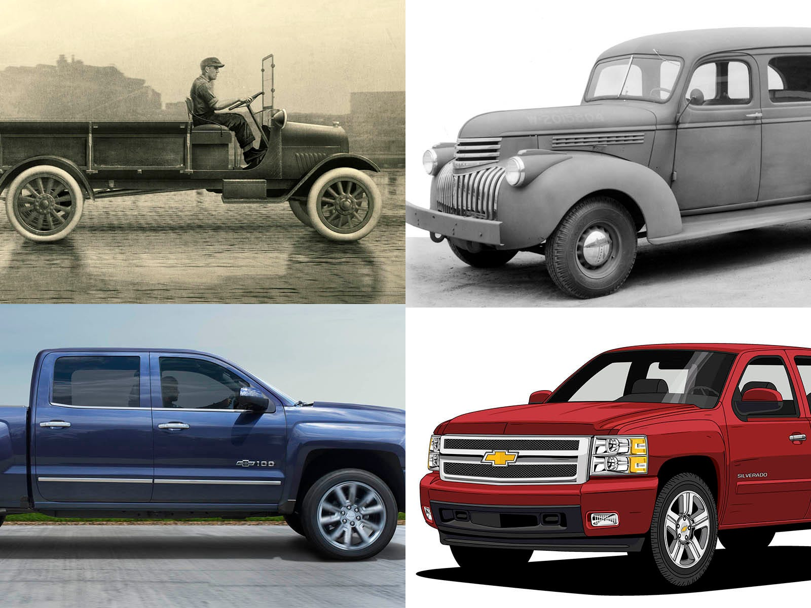 Photos 100 Years Of Chevrolet Trucks
