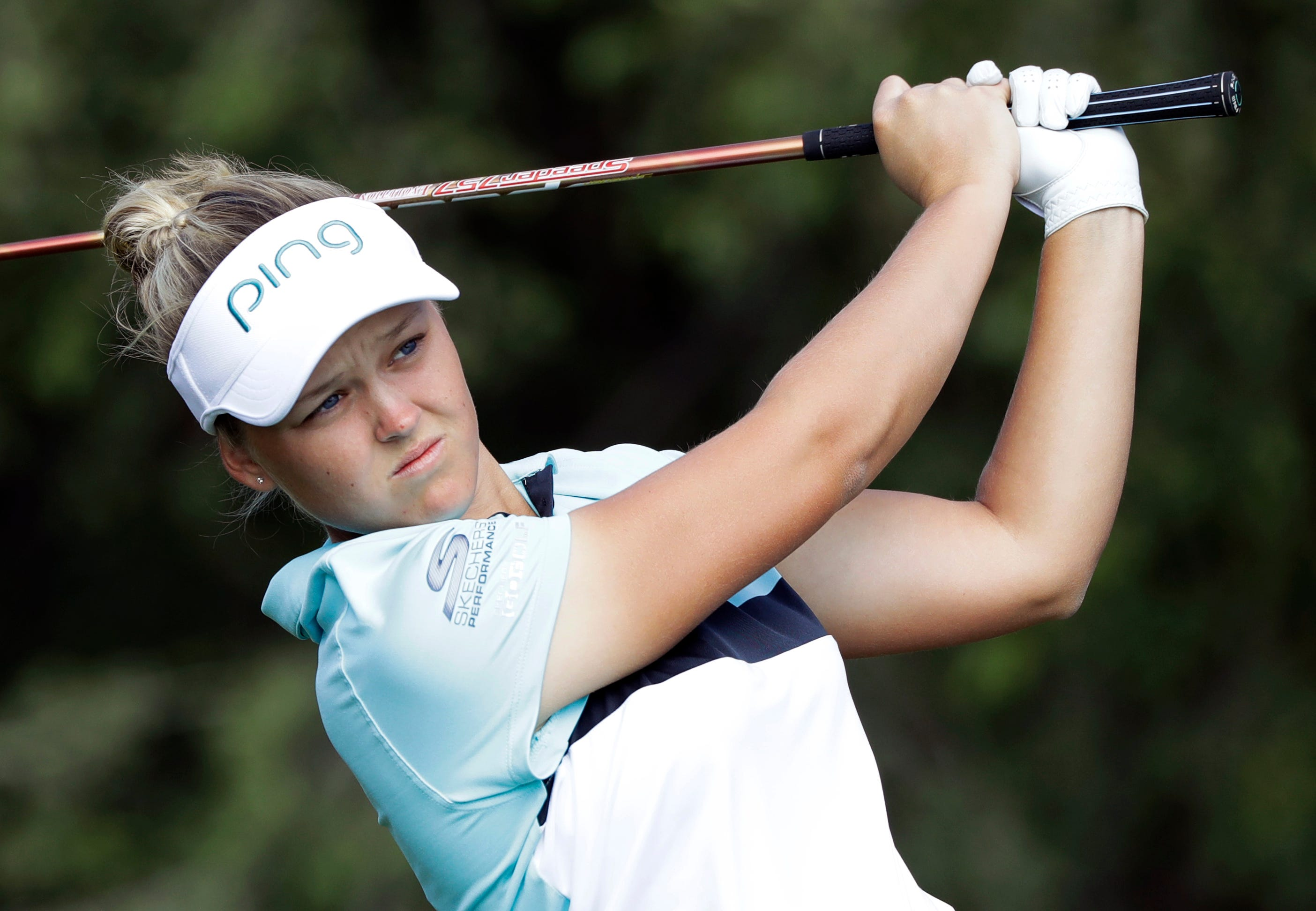 Mozo leads NZ Women's Open by five after 8-under 64