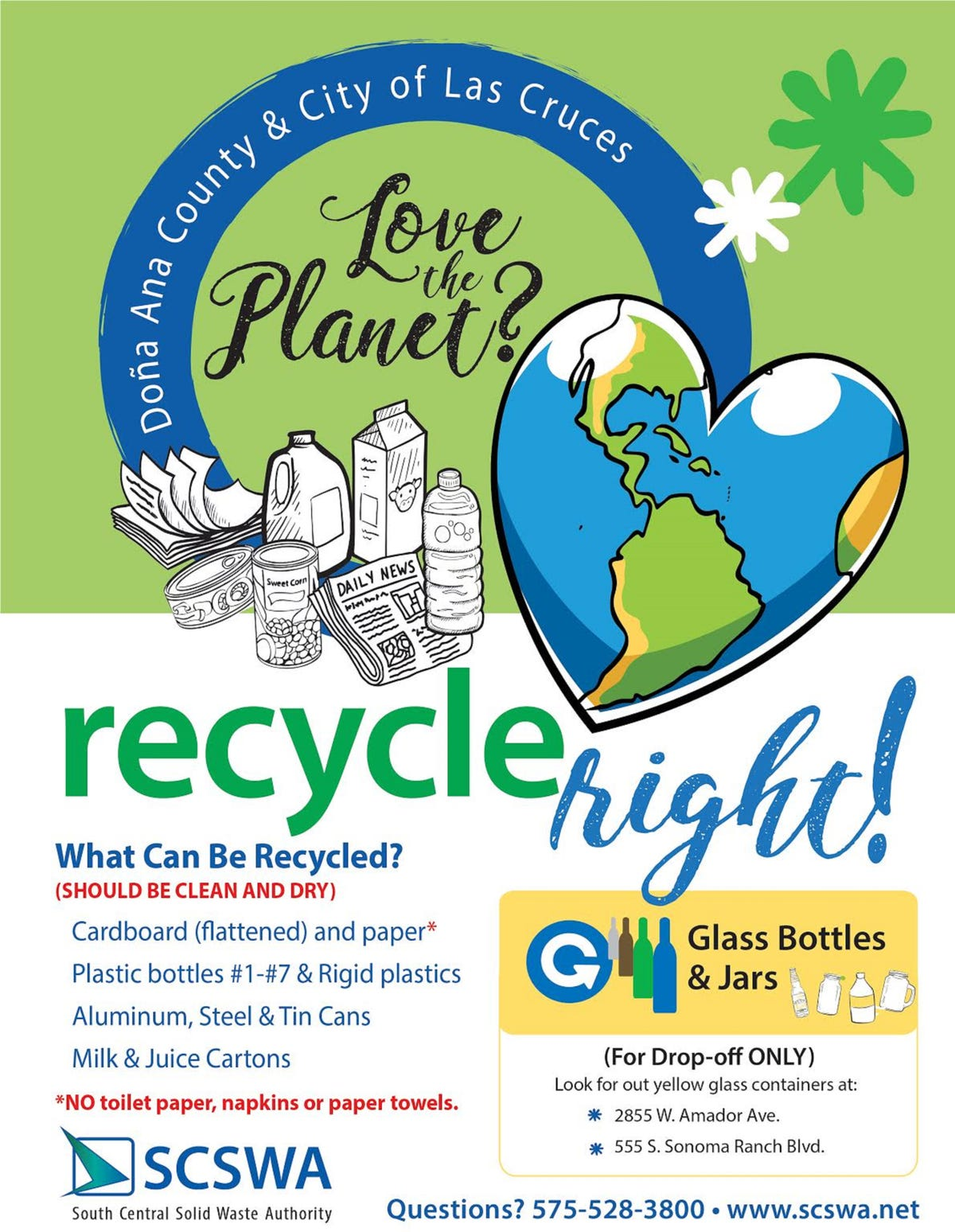 New recycling rules: What can and can't be recycled in Las Cruces?