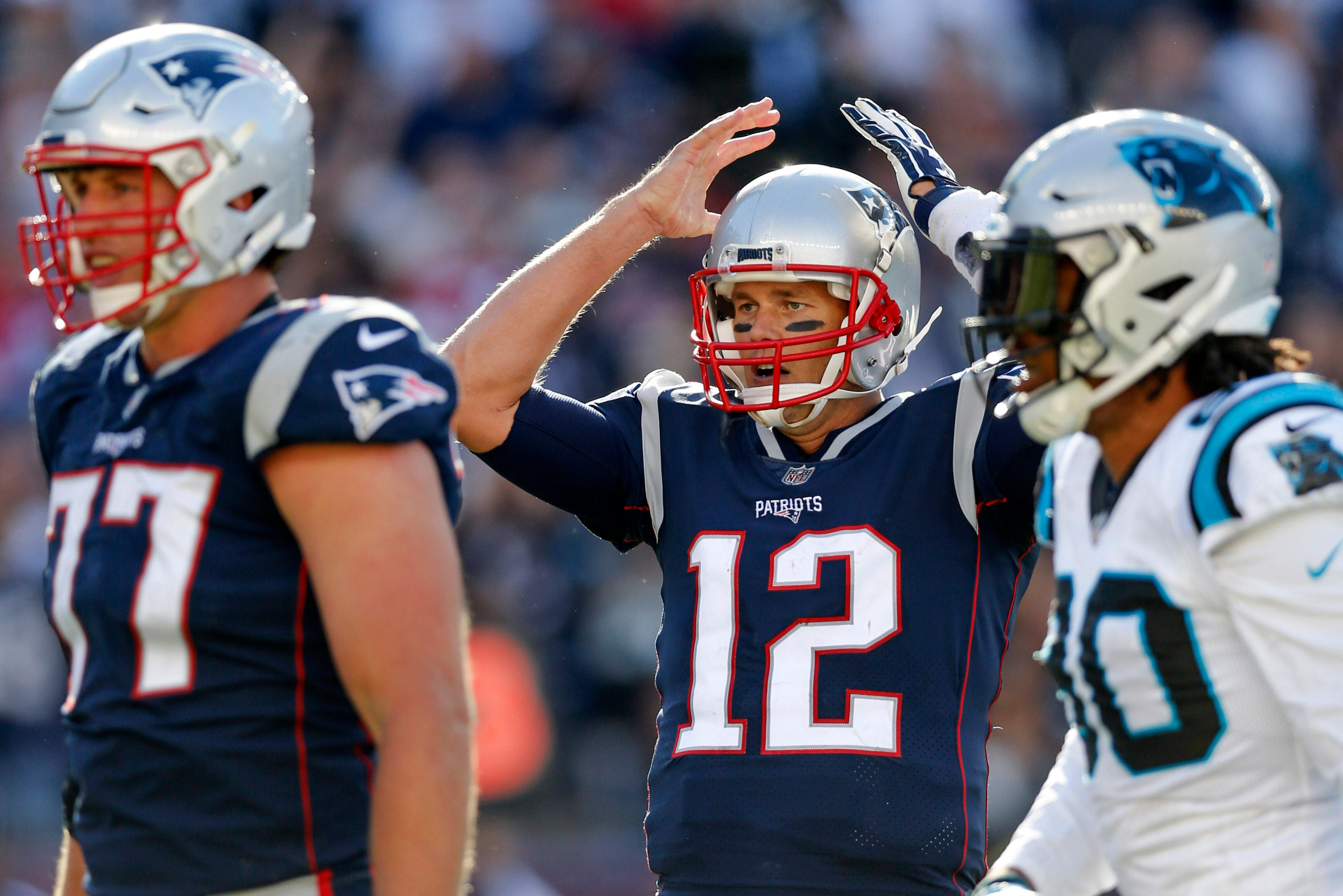 Patriots in shambles? Even Tom Brady couldn't salvage win vs. Panthers