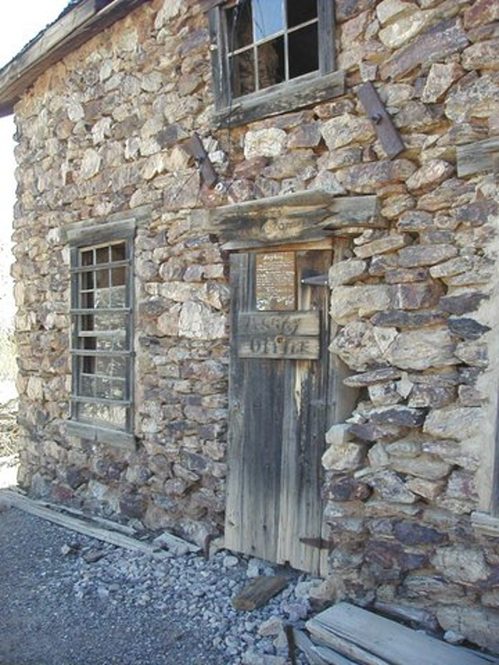 The assay building near the Vulture Mine in Wickenburg may be home to spirits still waiting for gold.