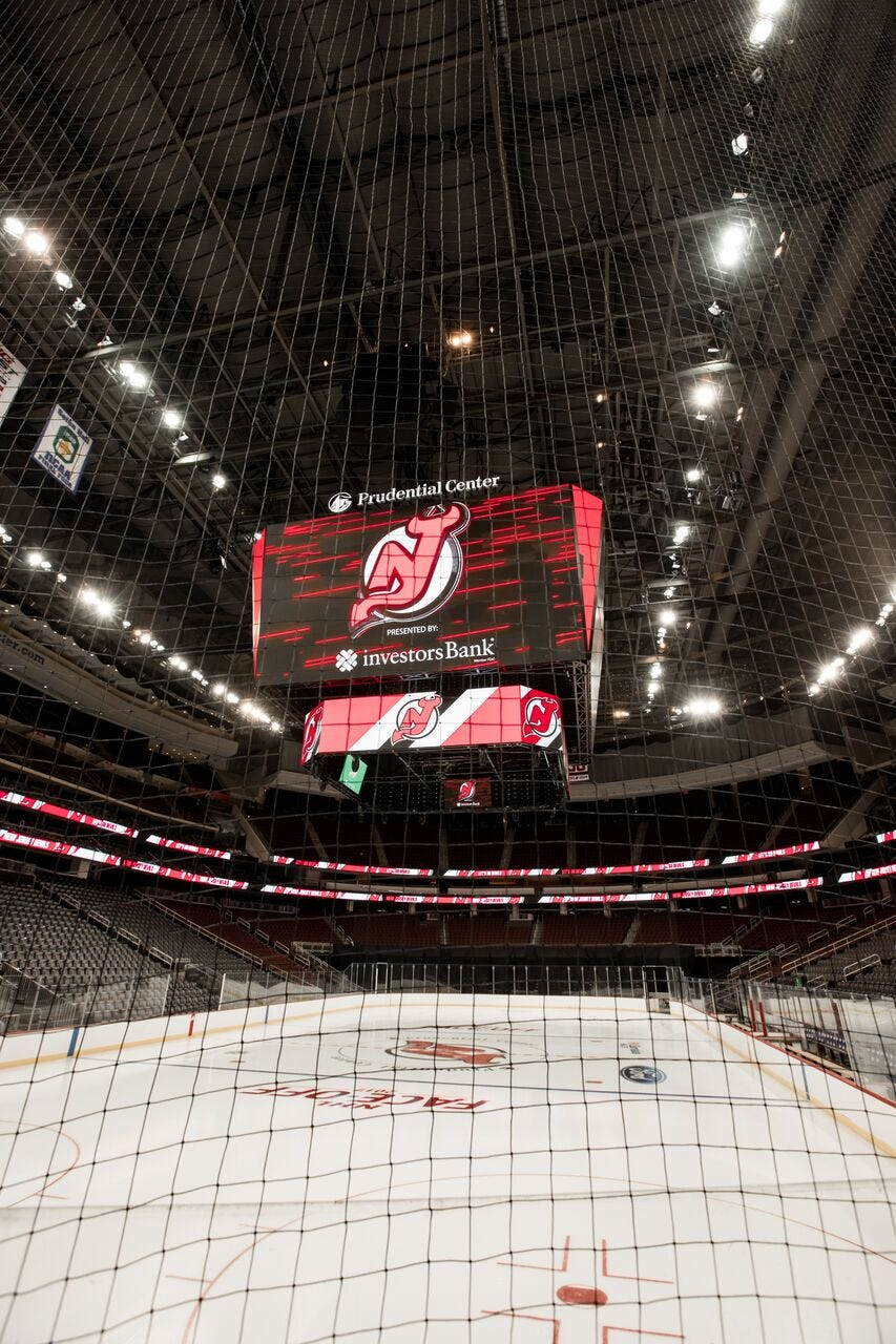 New Jersey Devils to unveil largest in-arena scoreboard at Prudential Center