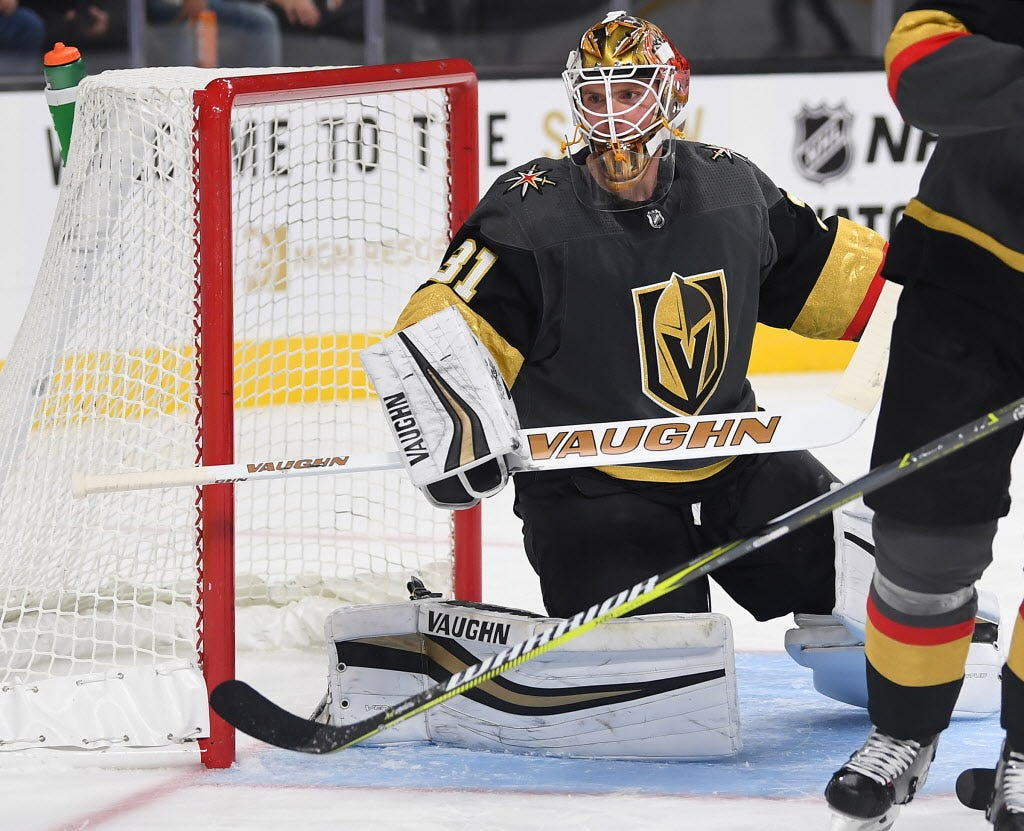 Golden Knights trade expansion pick goalie Calvin Pickard to Maple Leafs