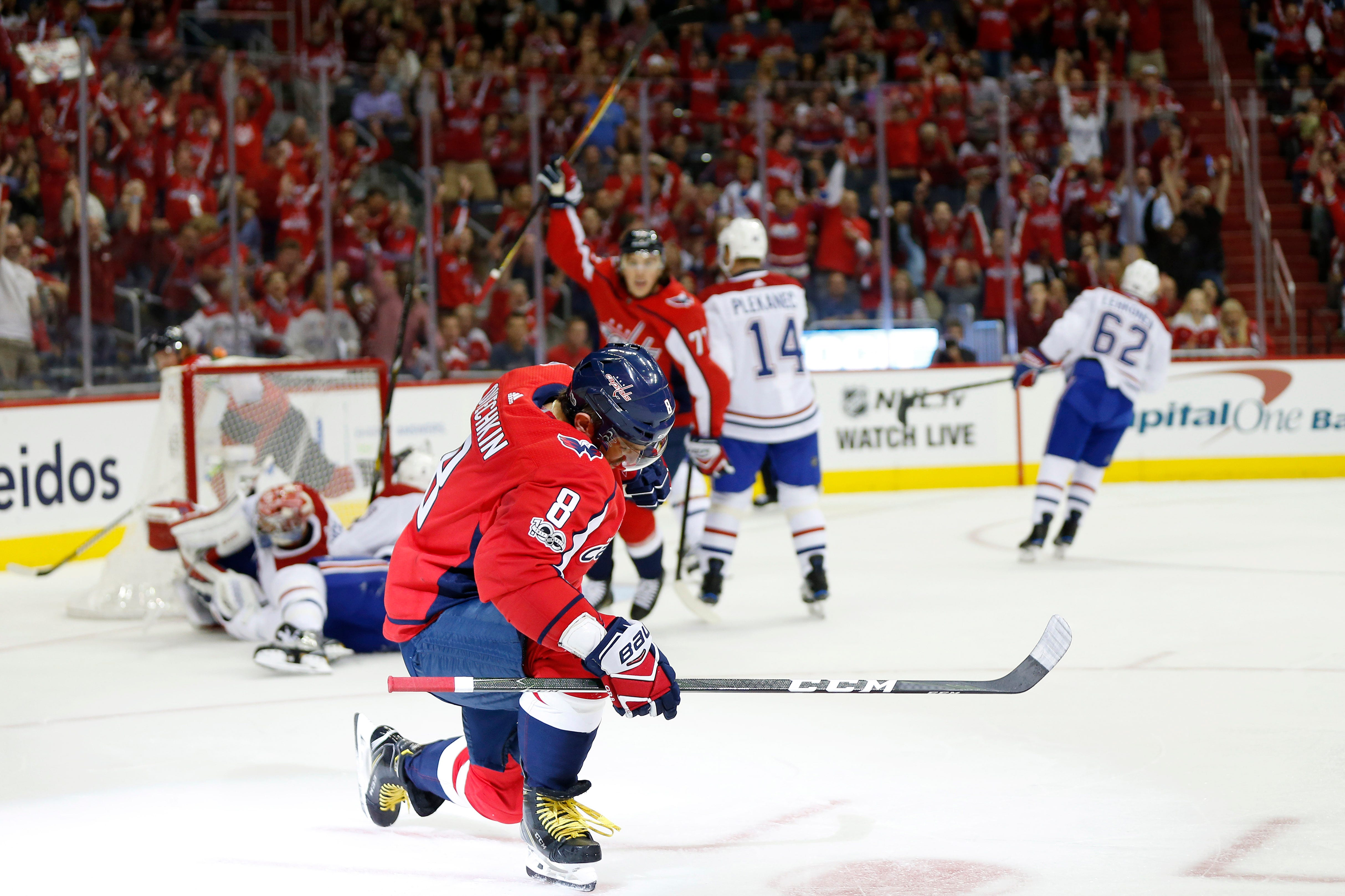 Alex Ovechkin ties Capitals record with historic hat trick