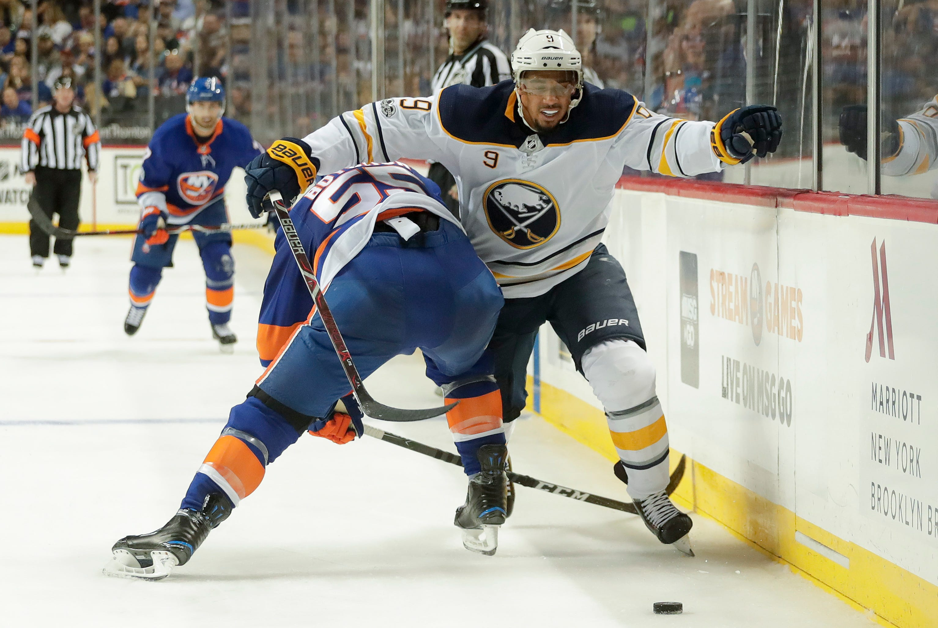 Tavares helps Islanders beat Sabres 6-3 in home opener