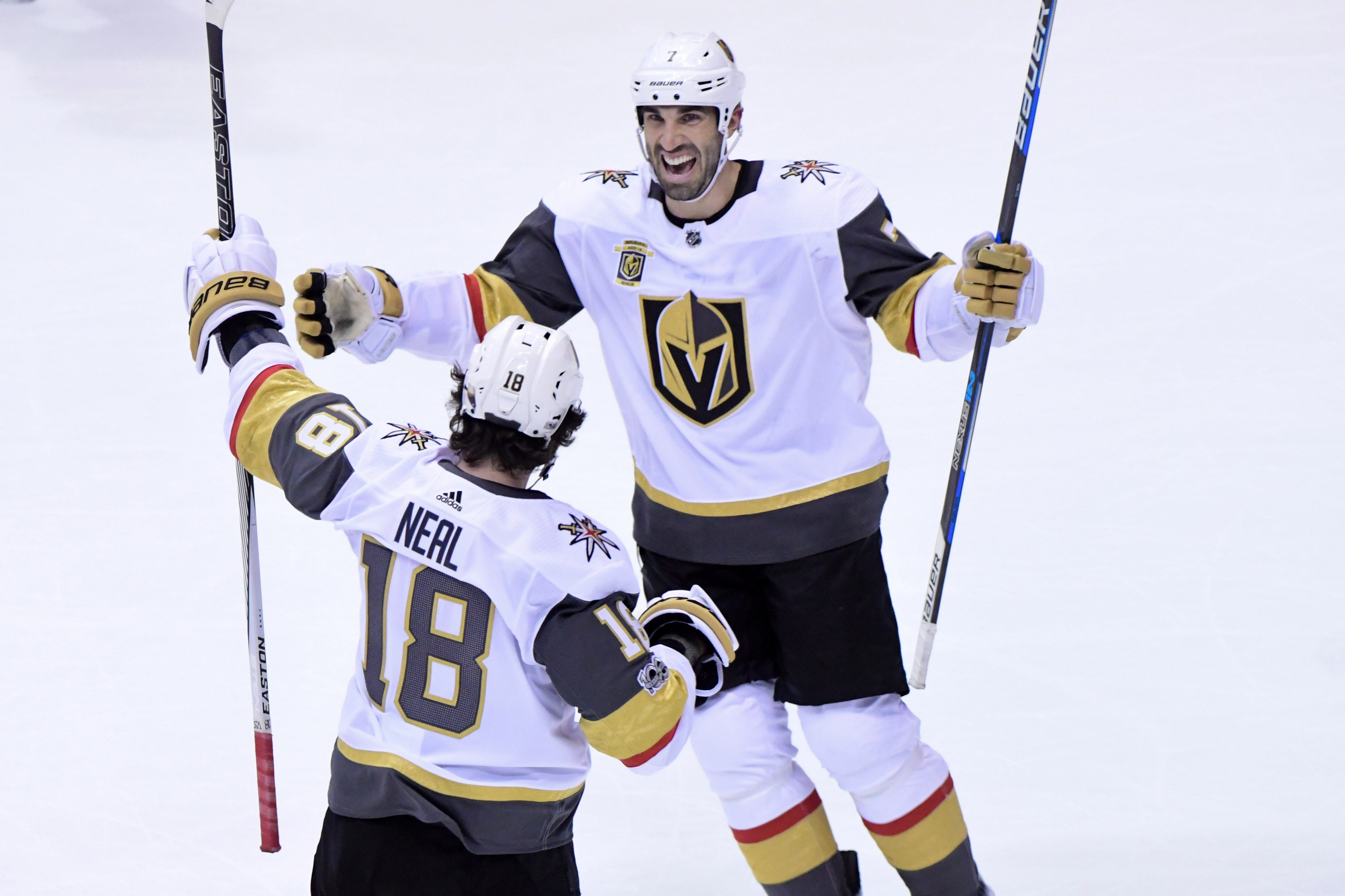 James Neal lifts Golden Knights to victory again in first overtime game