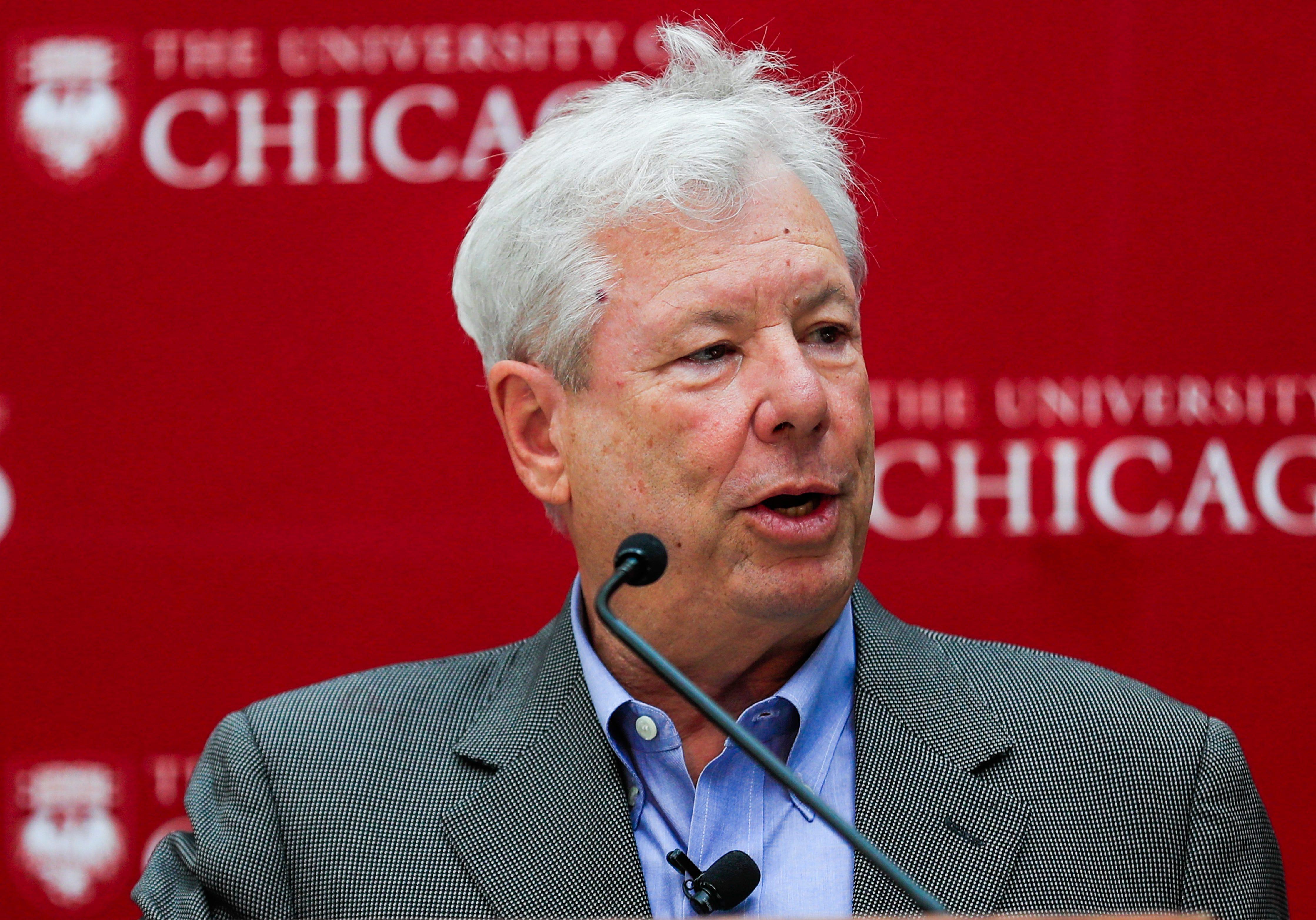 Nobel winner Richard Thaler shows how emotions derail financial plans