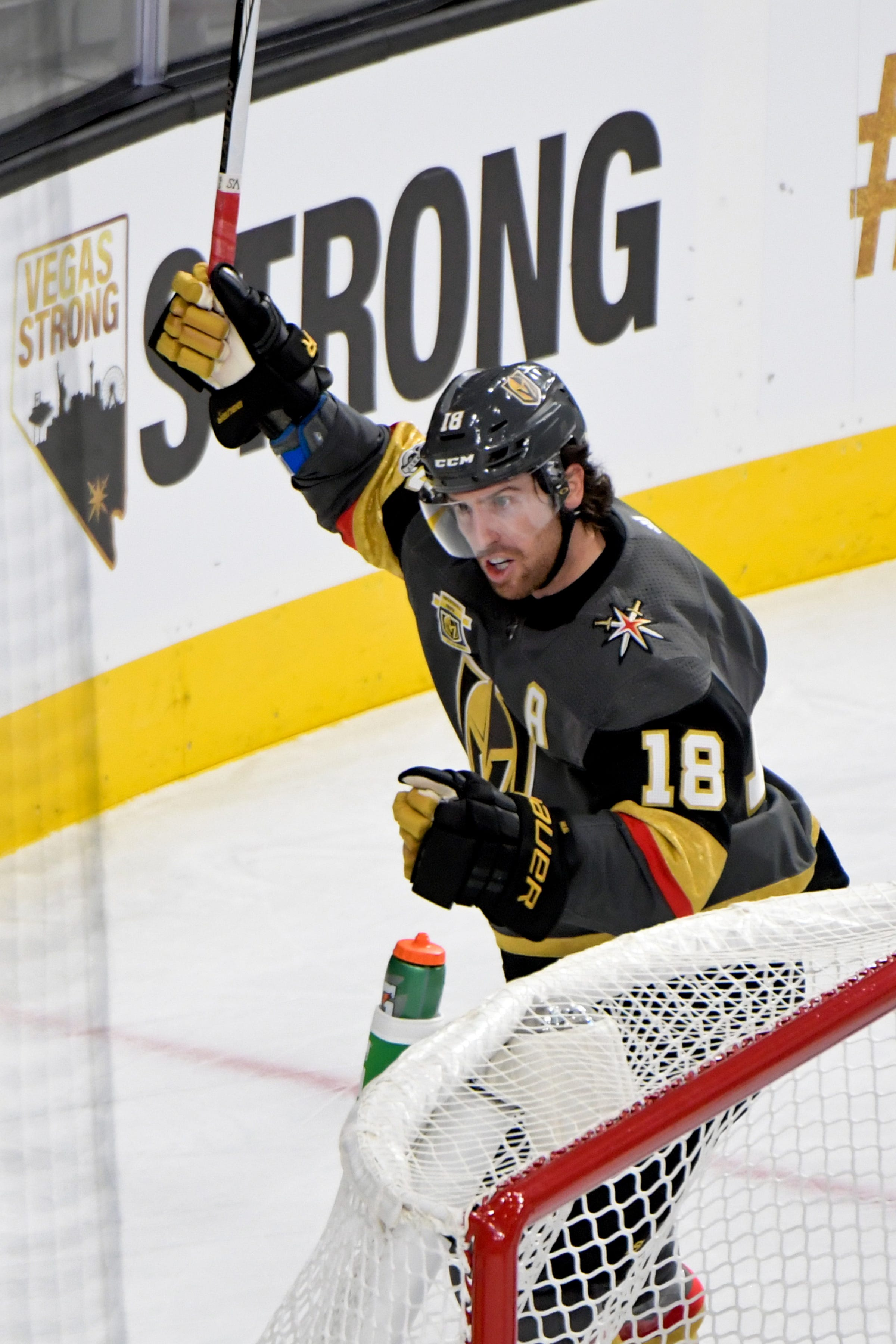 Vegas Golden Knights make history with big win in emotional home opener