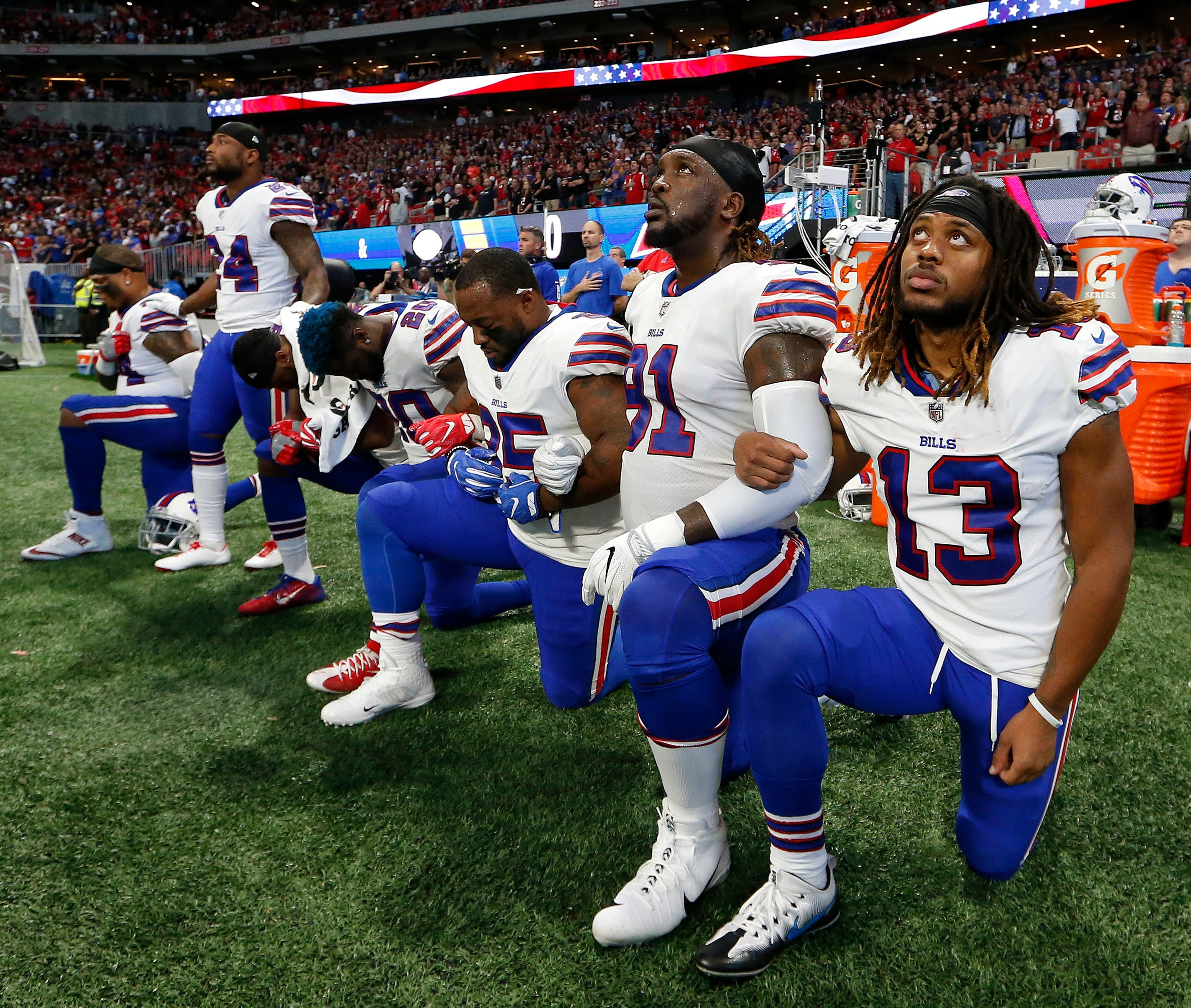 NFL, players have one easy answer for how to end protests on their own terms