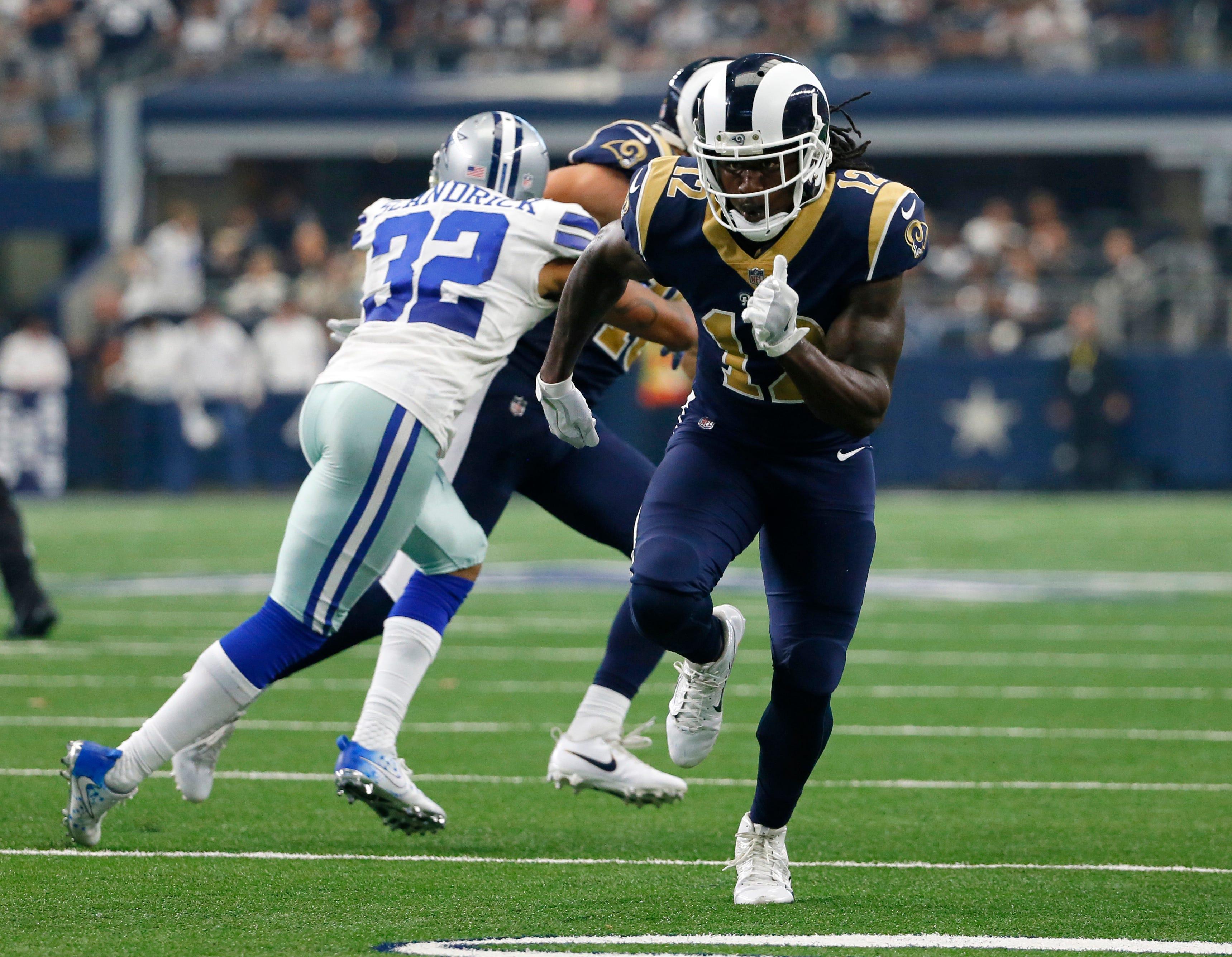WR Watkins 'frustrated,' but still believes in Rams' offense