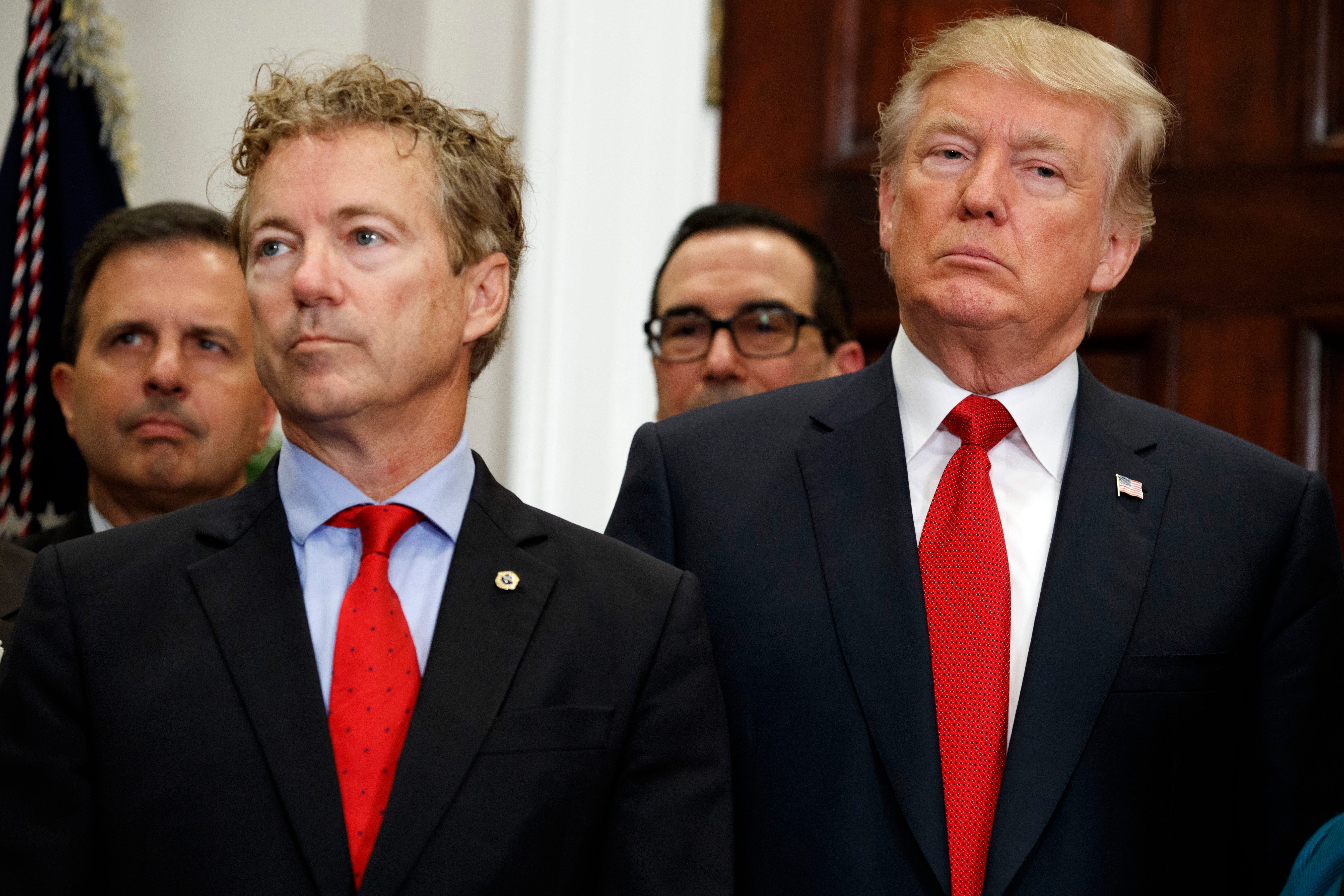 Rand Paul repeats name of suspected whistleblower...
