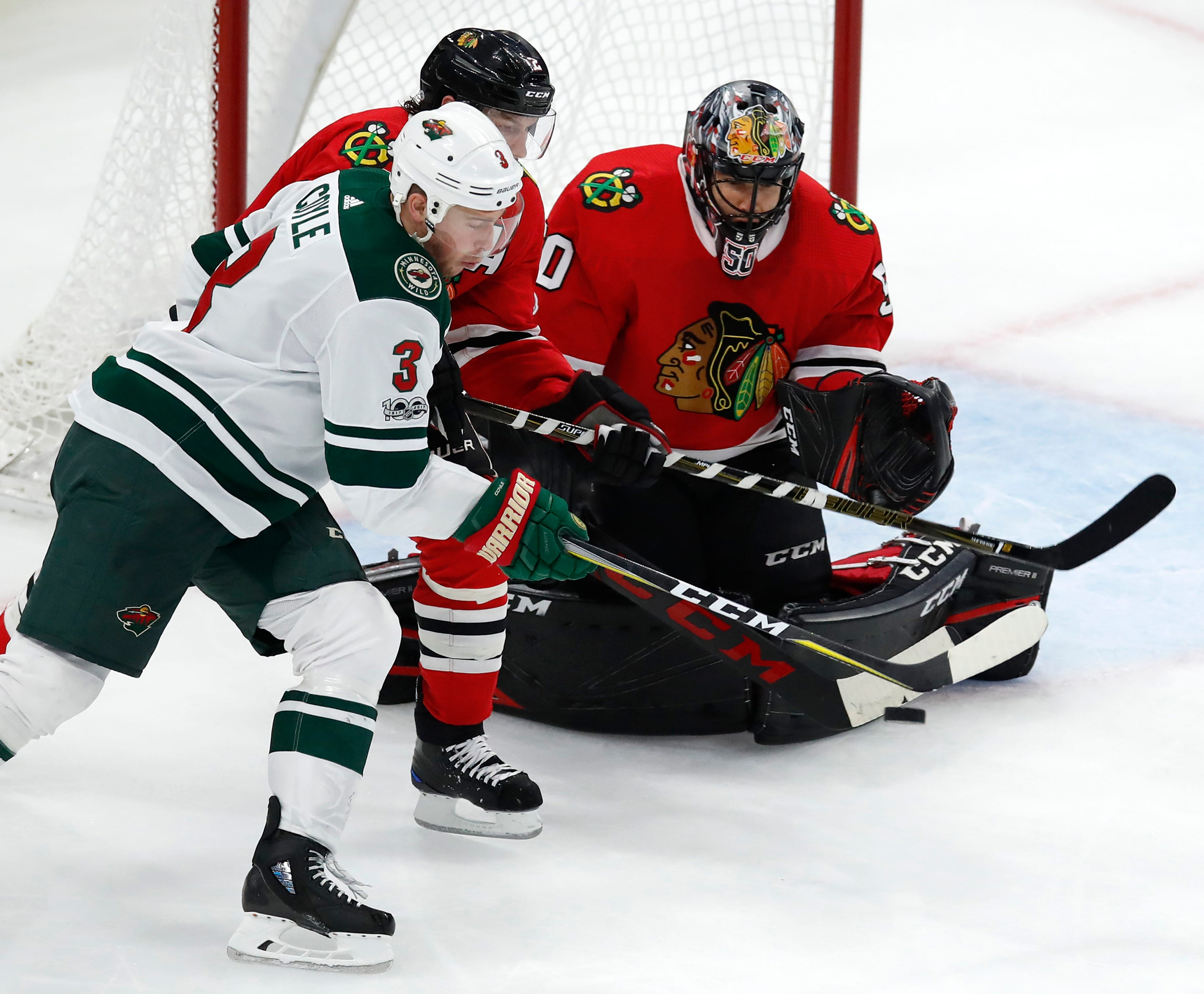 Wild forward Charlie Coyle out 6-8 weeks with broken leg