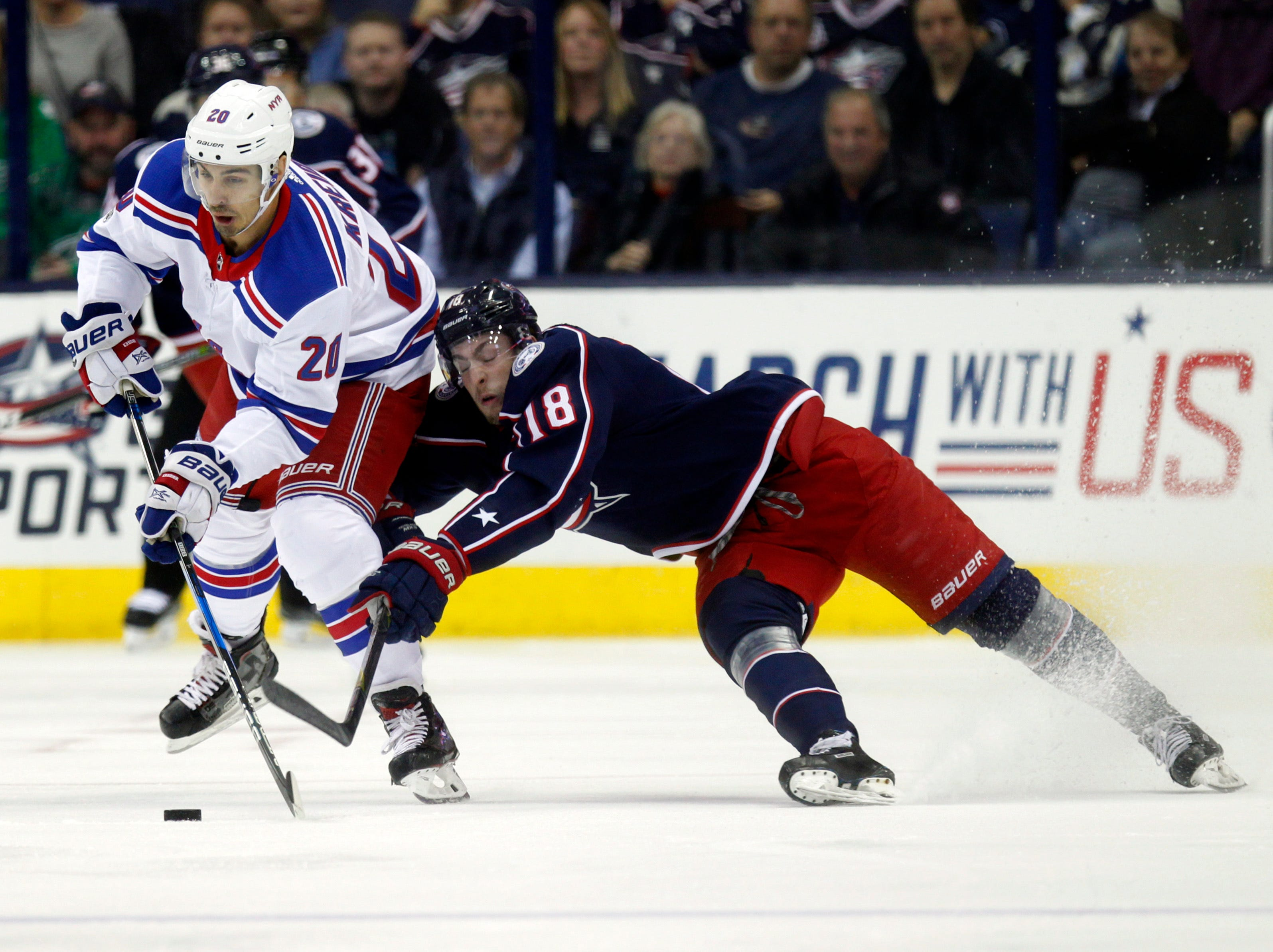 Panarin, Blue Jackets rally to beat Rangers 3-1